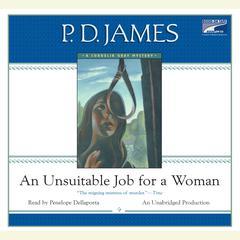 An Unsuitable Job for a Woman Audiobook, by P. D. James