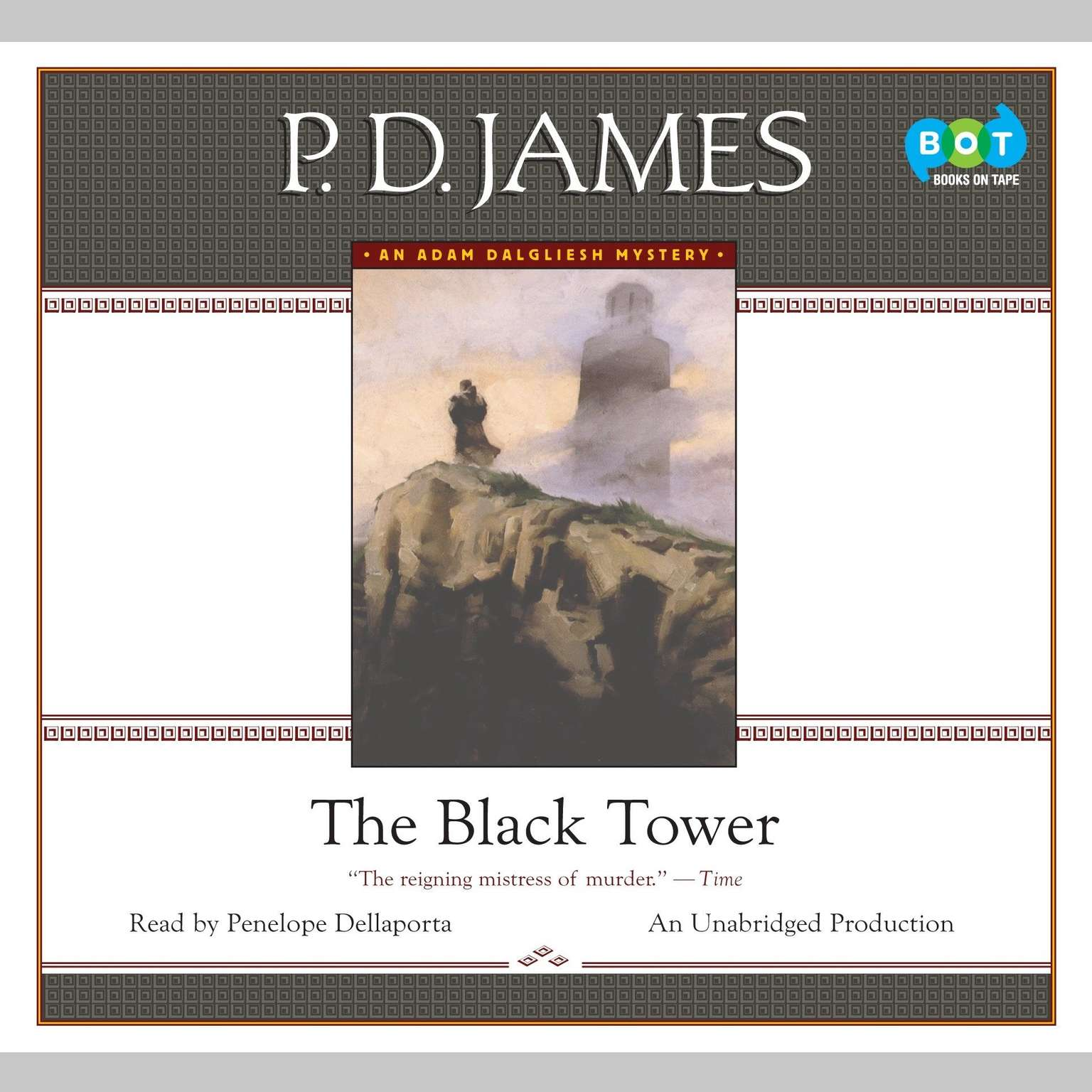 Printable The Black Tower Audiobook Cover Art
