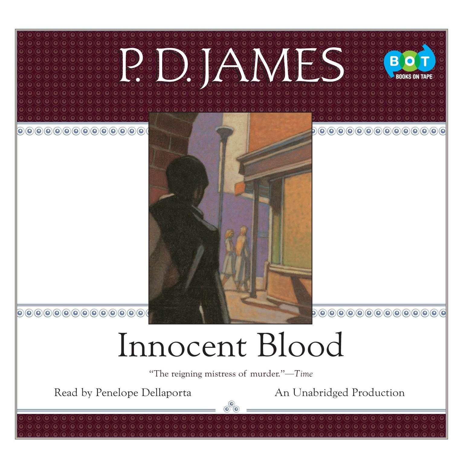 Printable Innocent Blood Audiobook Cover Art