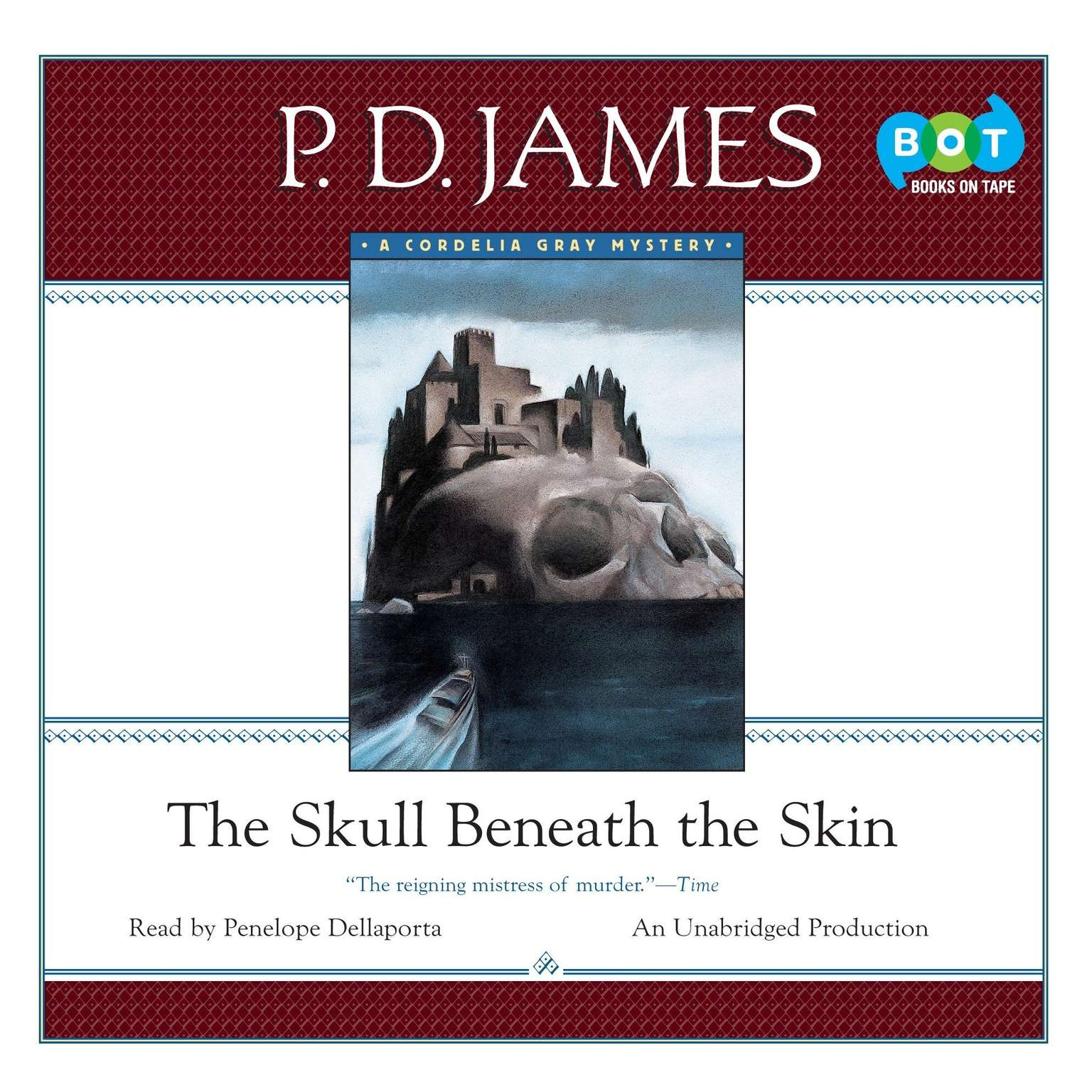 Printable The Skull beneath the Skin Audiobook Cover Art