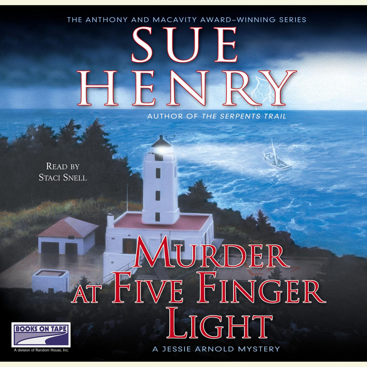 Printable Murder at Five Finger Light Audiobook Cover Art