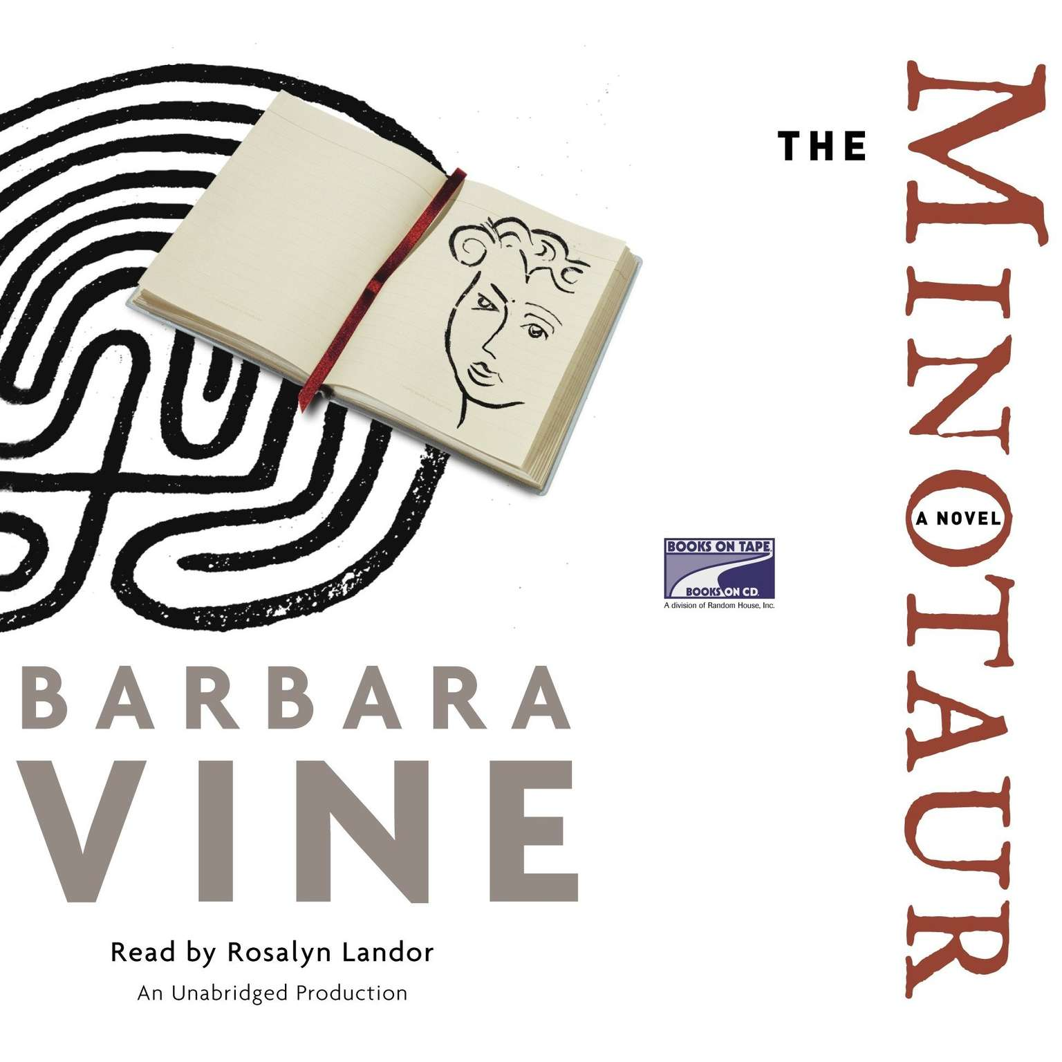 Printable The Minotaur: A Novel Audiobook Cover Art
