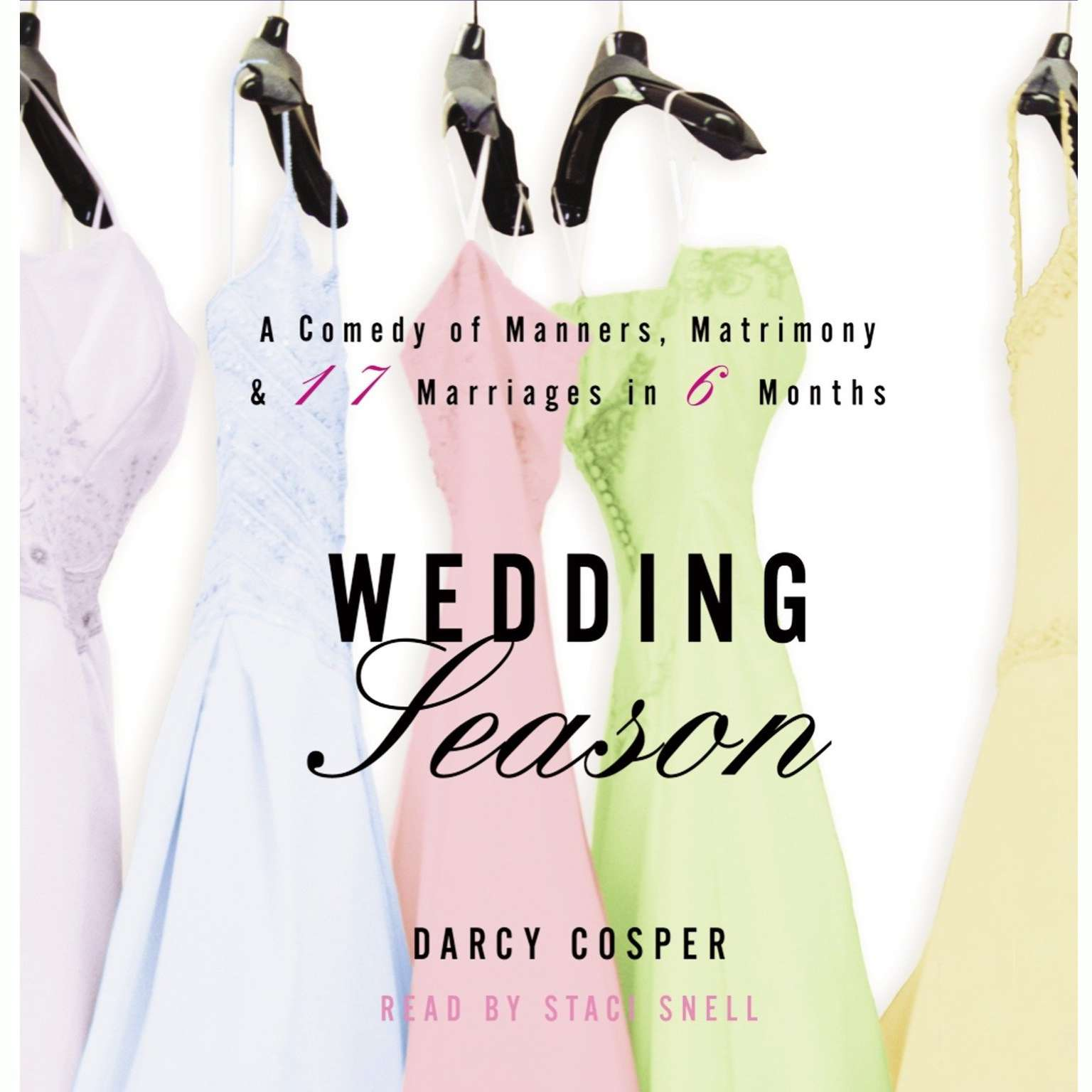 Printable Wedding Season Audiobook Cover Art