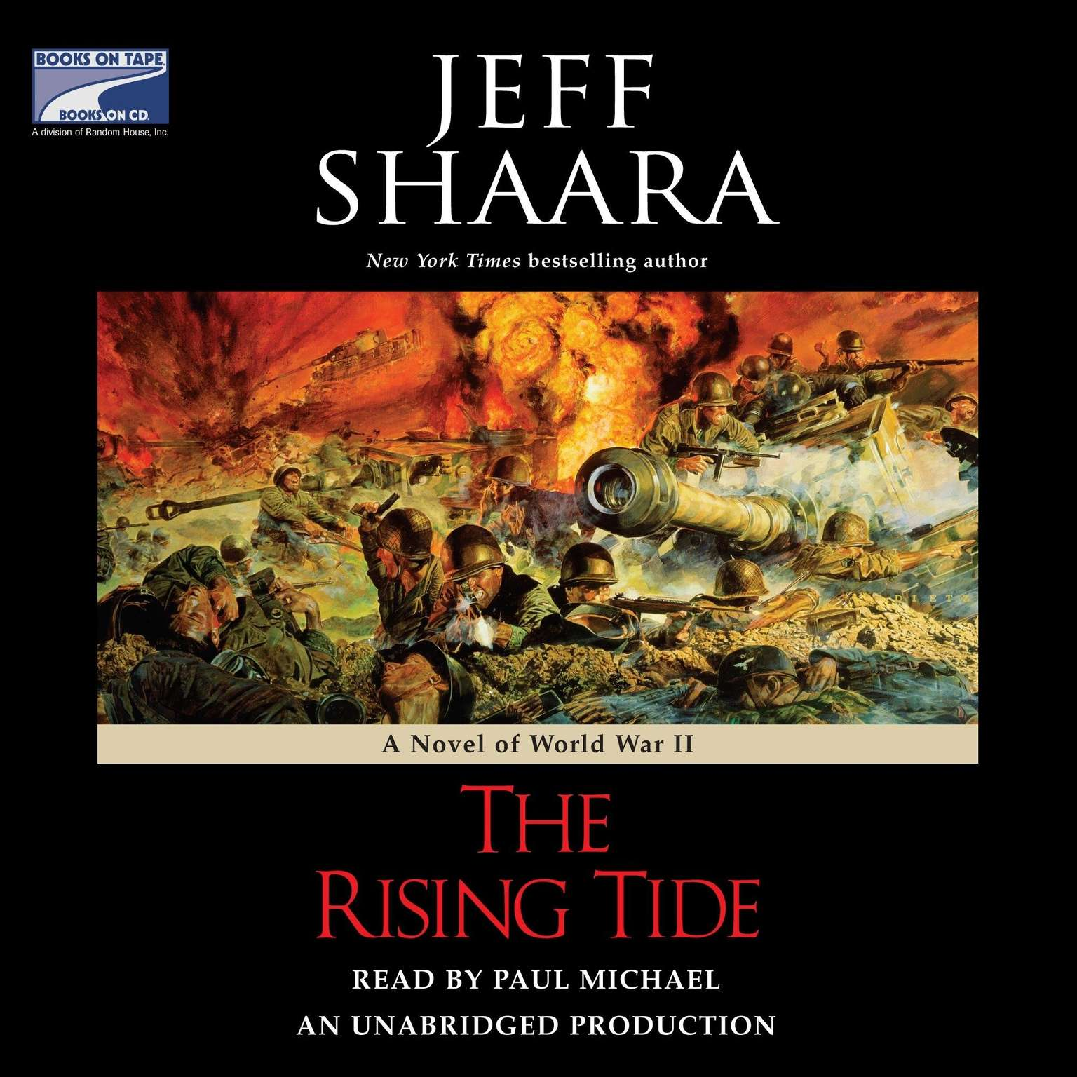 Printable The Rising Tide: A Novel of World War II Audiobook Cover Art