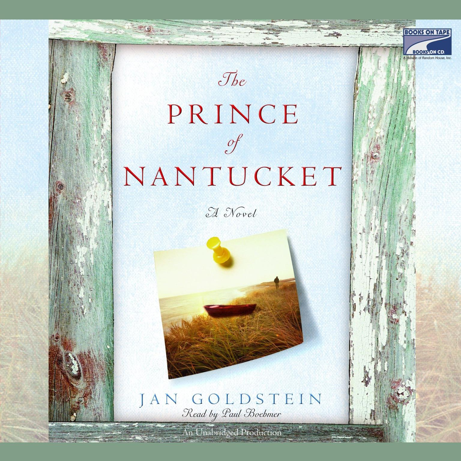 Printable The Prince of Nantucket Audiobook Cover Art