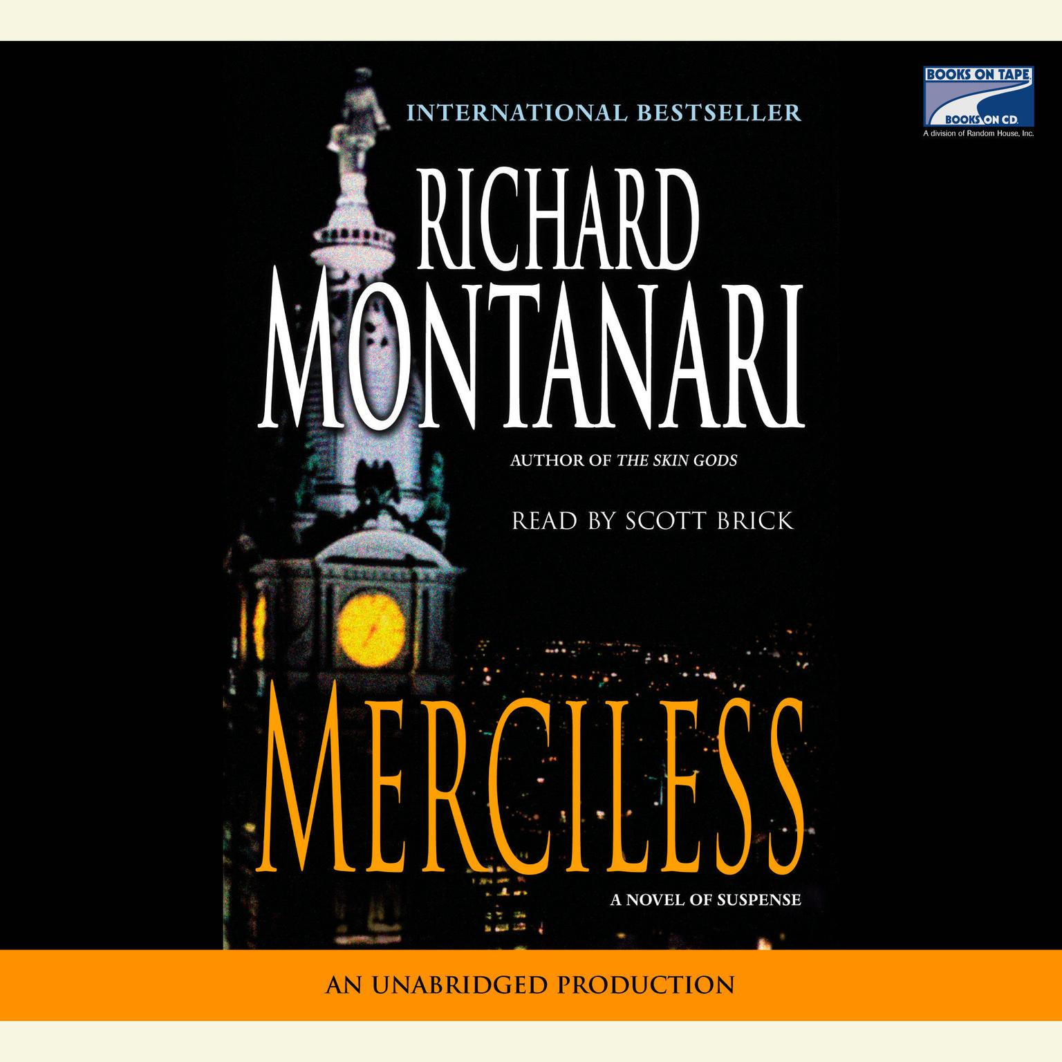 Printable Merciless: A Novel of Suspense Audiobook Cover Art