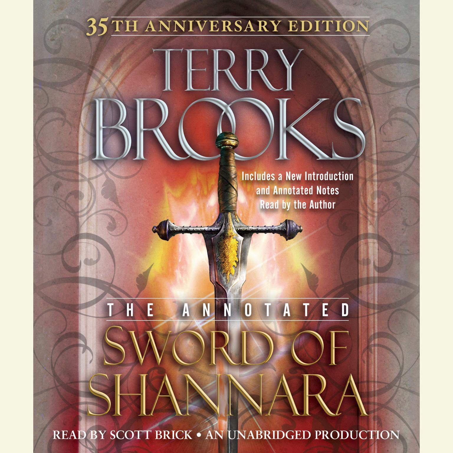 Printable The Annotated Sword of Shannara: 35th Anniversary Edition: 35th Anniversary Edition Audiobook Cover Art
