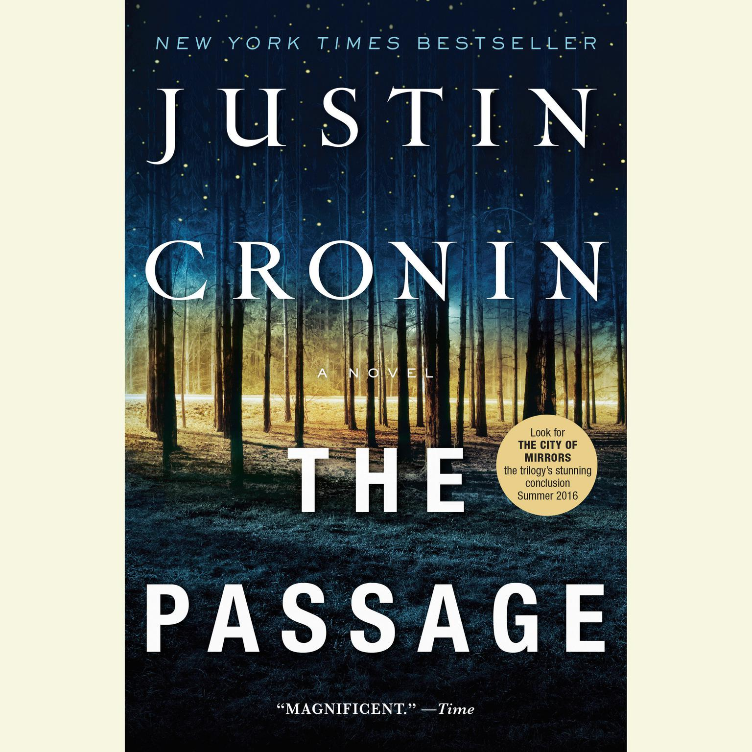 Printable The Passage: A Novel (Book One of The Passage Trilogy) Audiobook Cover Art