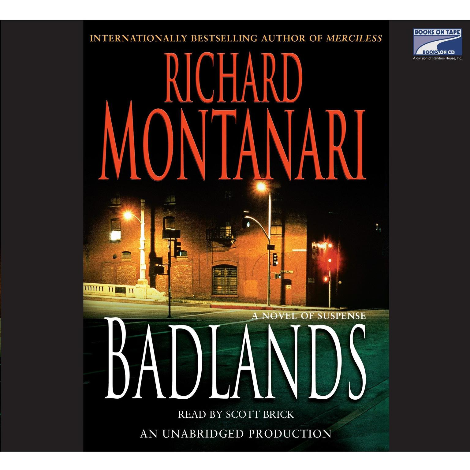 Printable Badlands: A Novel of Suspense Audiobook Cover Art