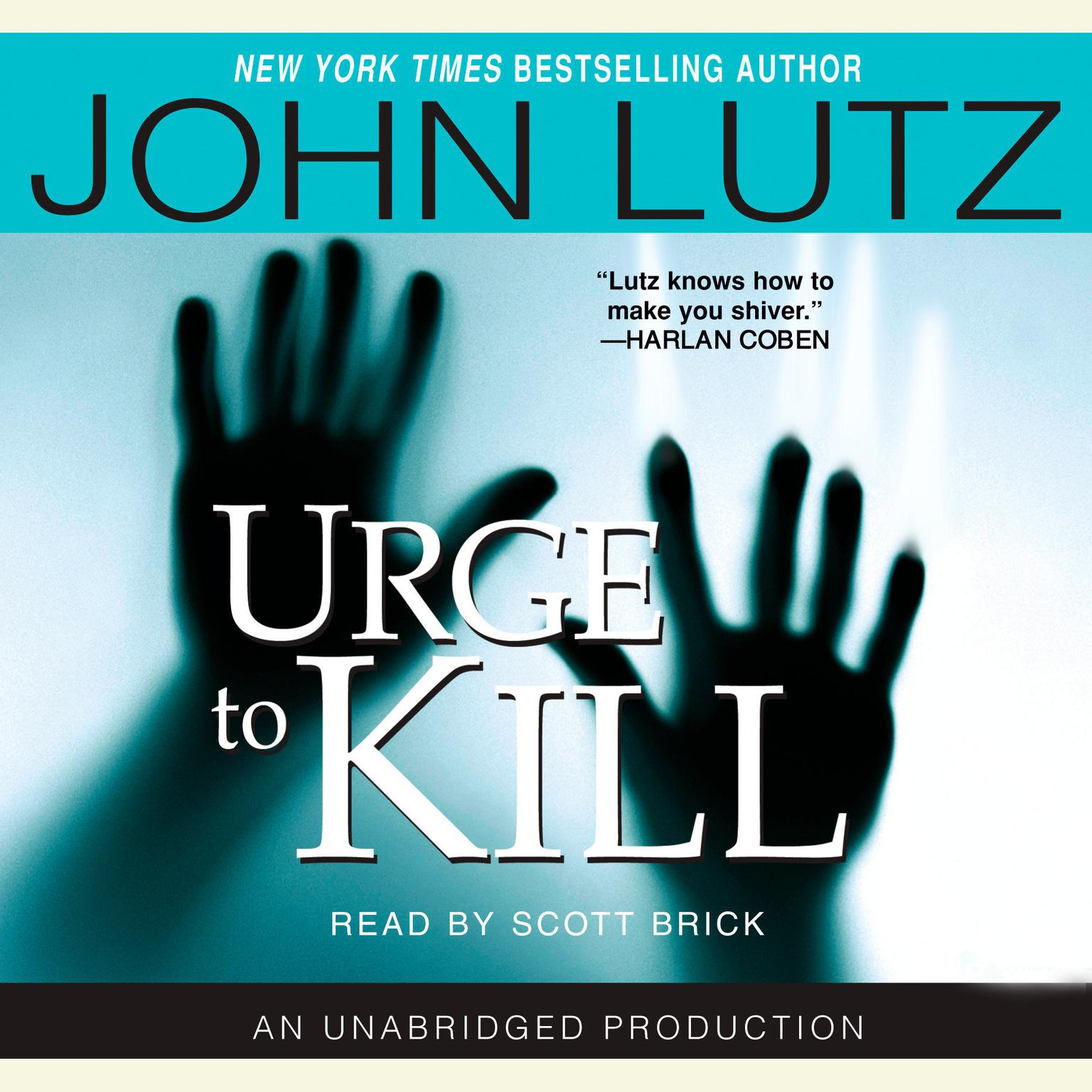 Printable Urge to Kill Audiobook Cover Art