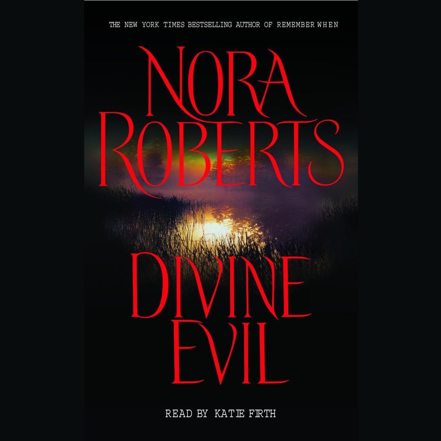 Printable Divine Evil Audiobook Cover Art