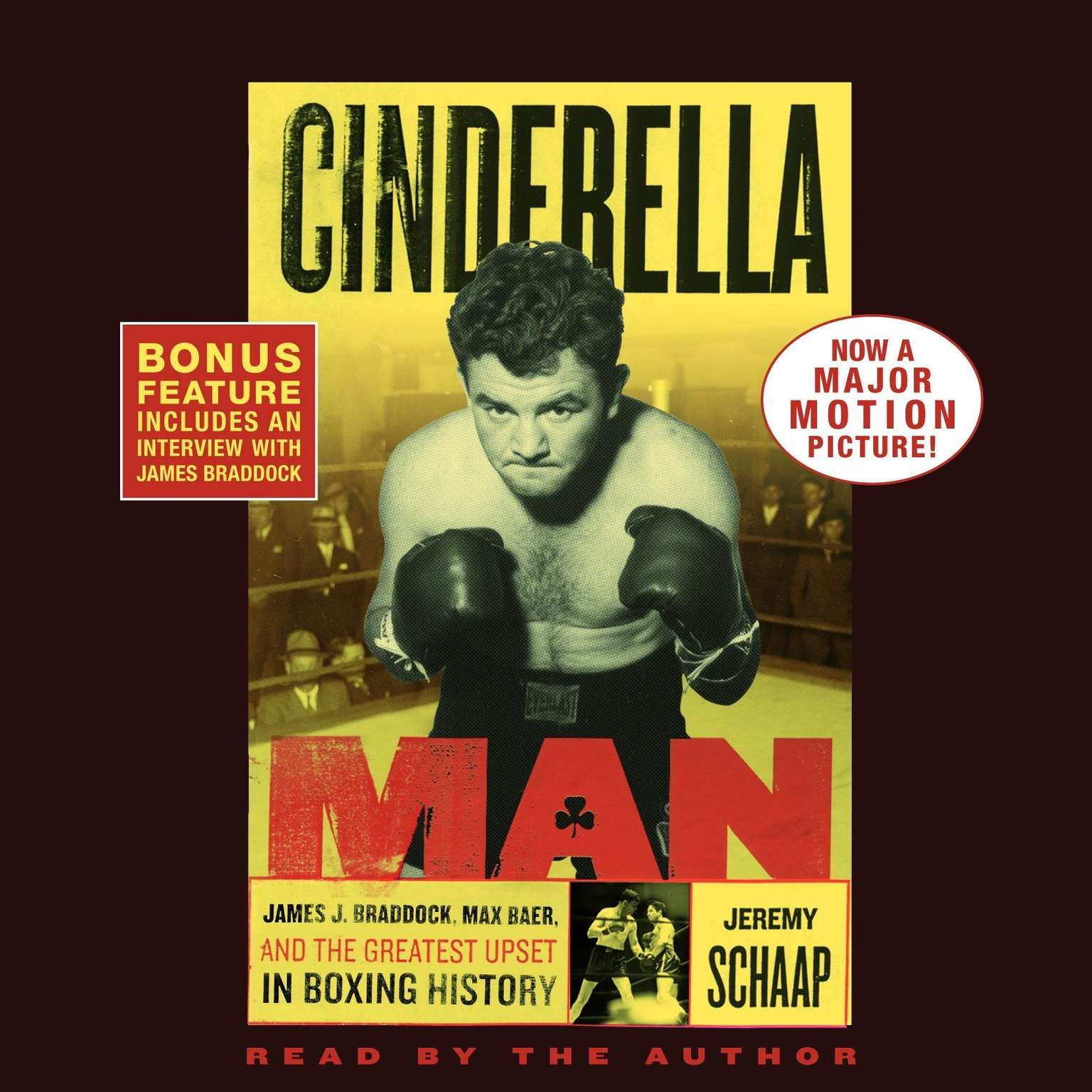Printable Cinderella Man: James J. Braddock, Max Baer, and the Greatest Upset in Boxing History Audiobook Cover Art