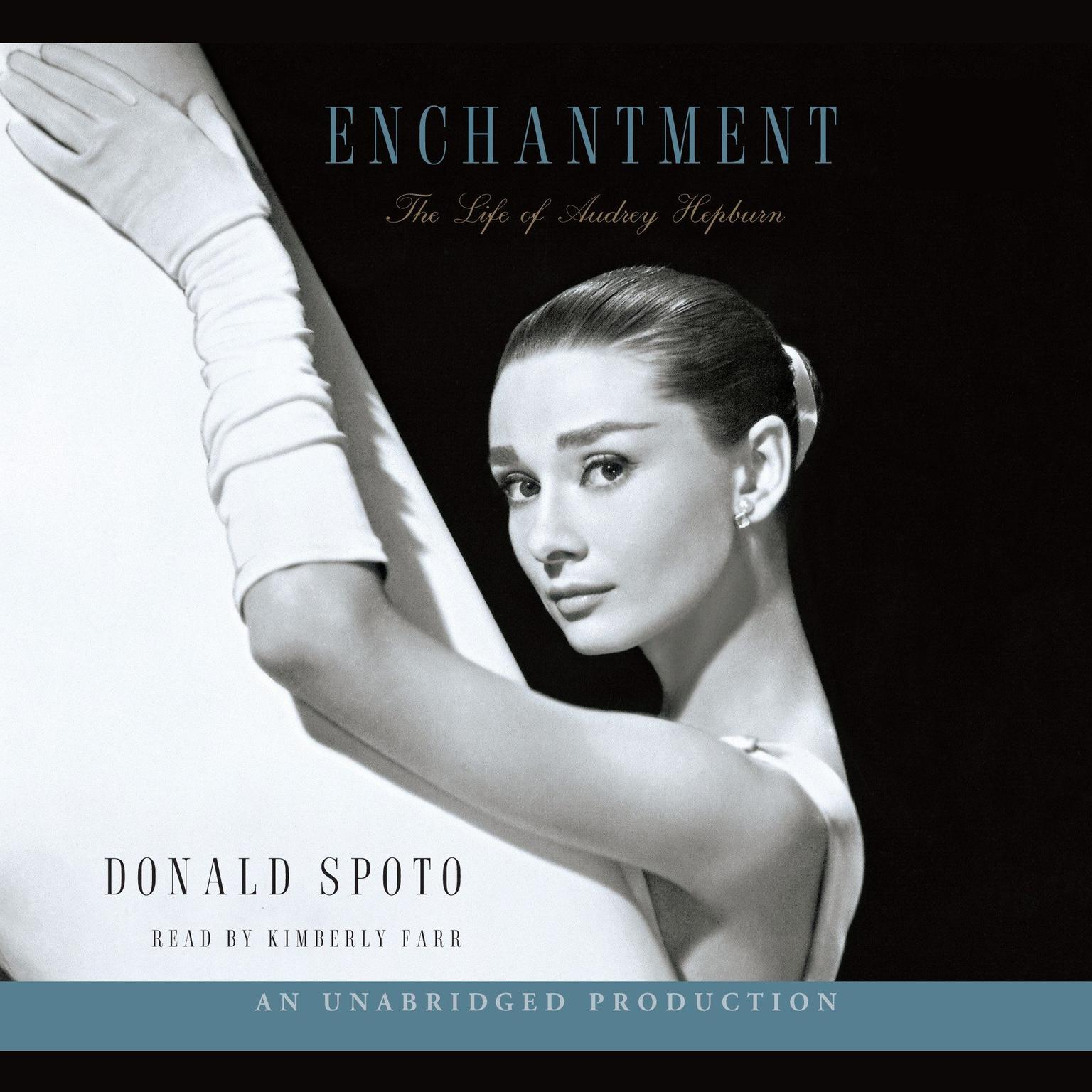 Printable Enchantment: The Life of Audrey Hepburn Audiobook Cover Art