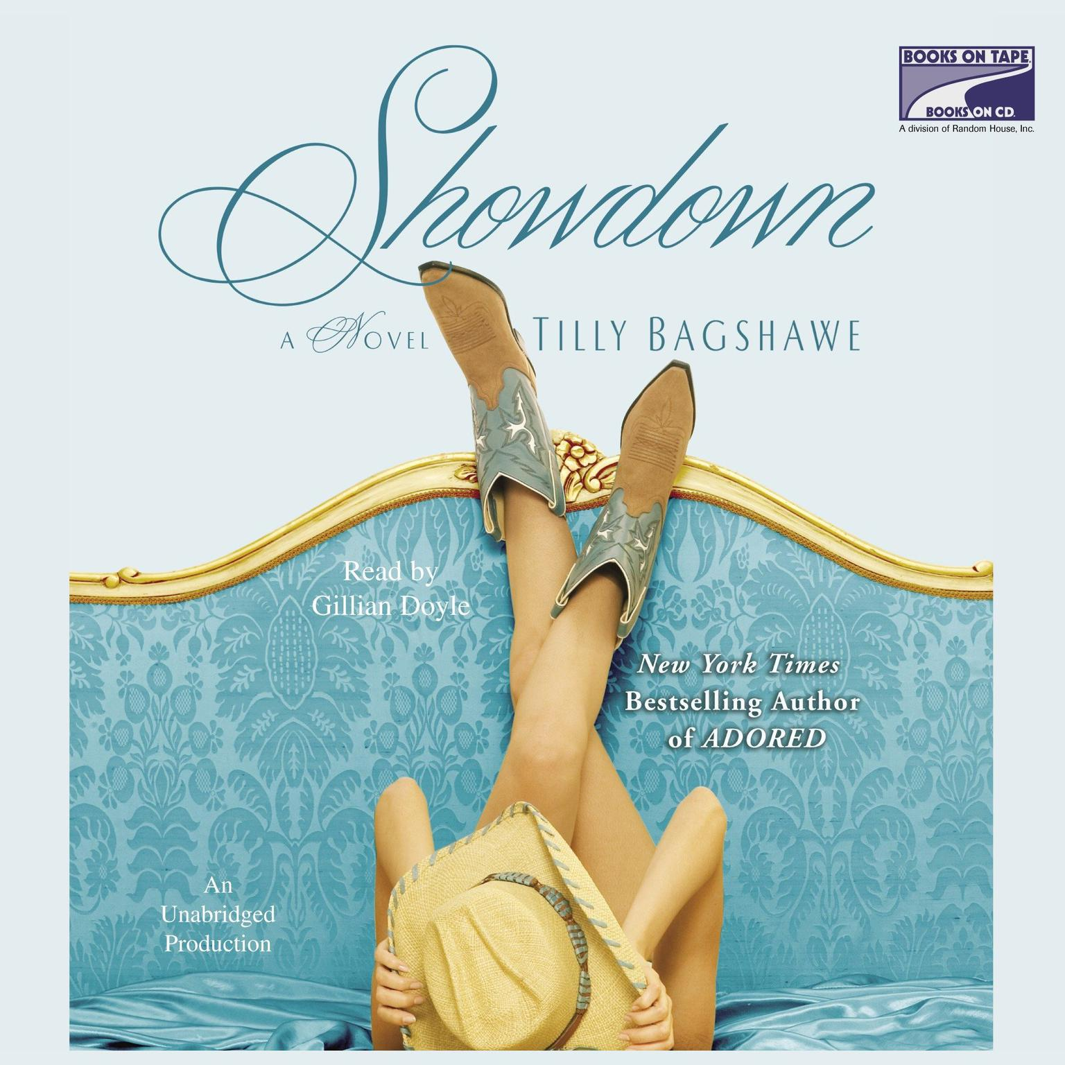 Printable Showdown Audiobook Cover Art