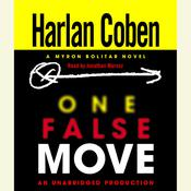 One False Move: A Myron Bolitar Novel, by Harlan Coben