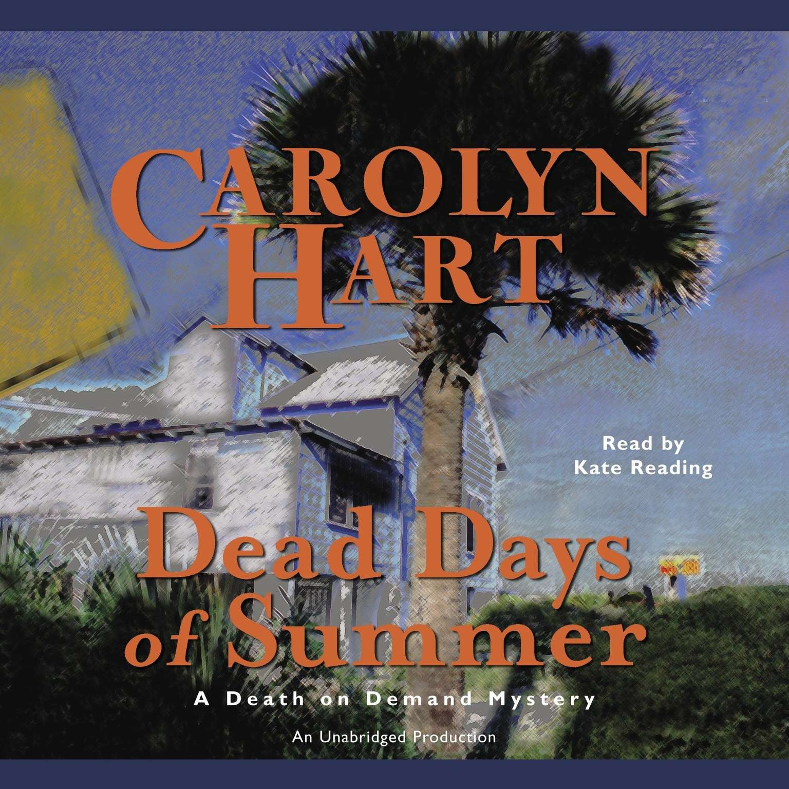 Printable Dead Days of Summer Audiobook Cover Art