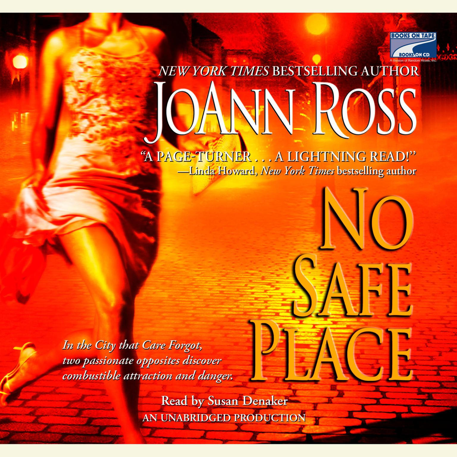 Printable No Safe Place Audiobook Cover Art