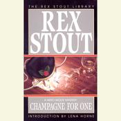 Champagne for One, by Rex Stout
