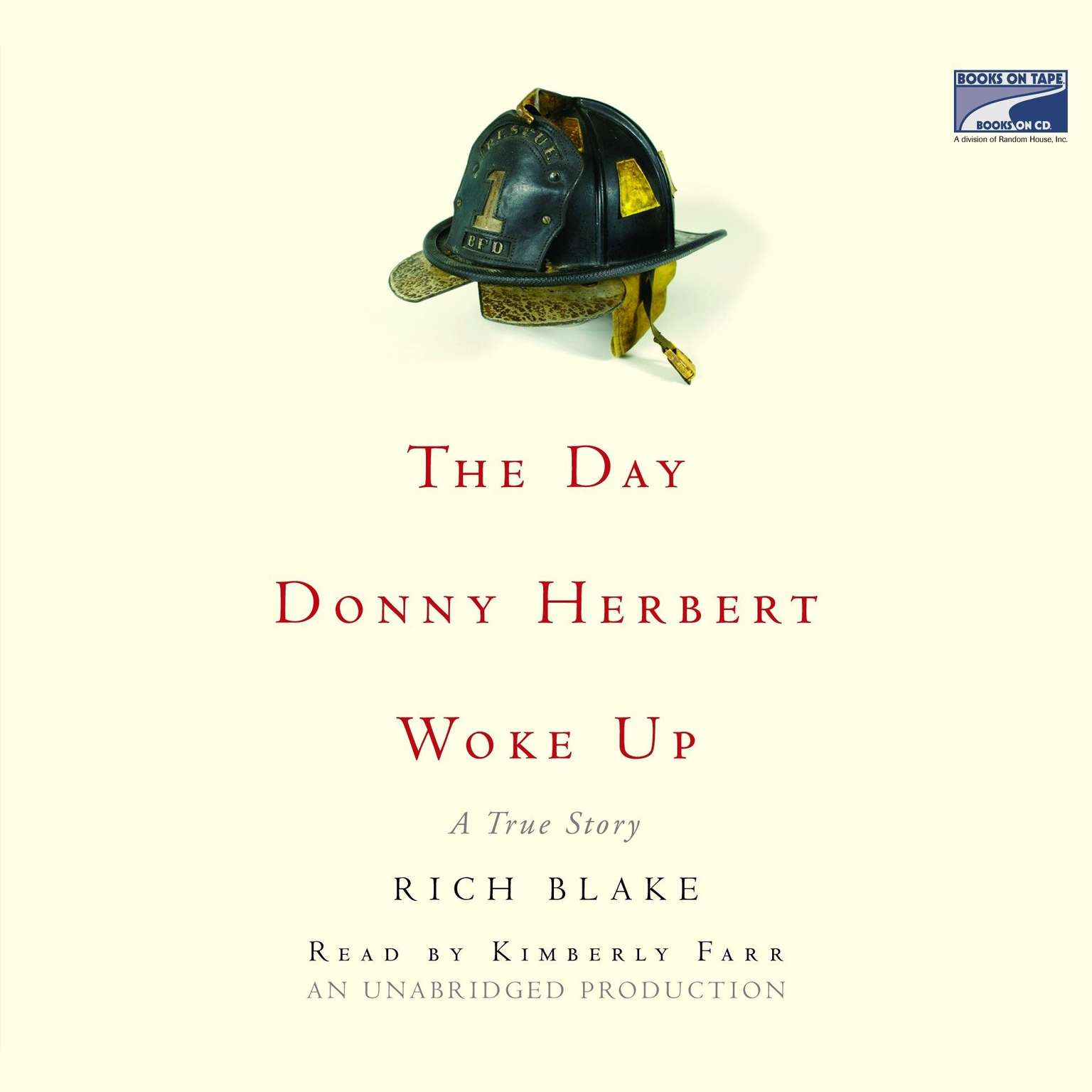 Printable The Day Donny Herbert Woke Up Audiobook Cover Art