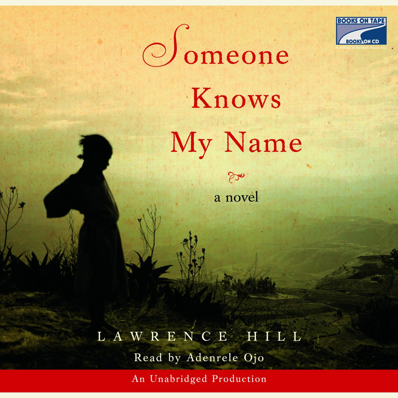 Printable Someone Knows My Name Audiobook Cover Art