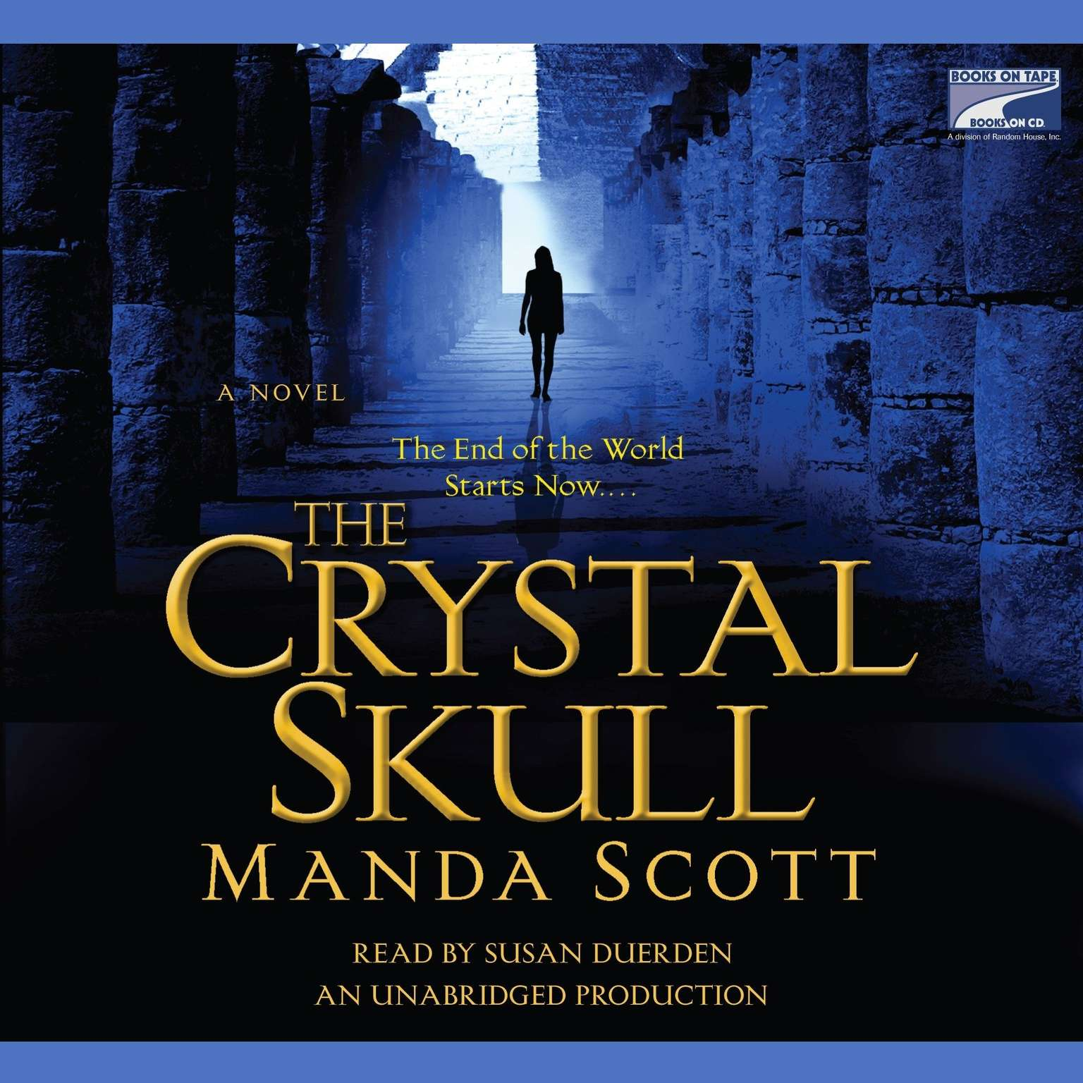 Printable The Crystal Skull Audiobook Cover Art