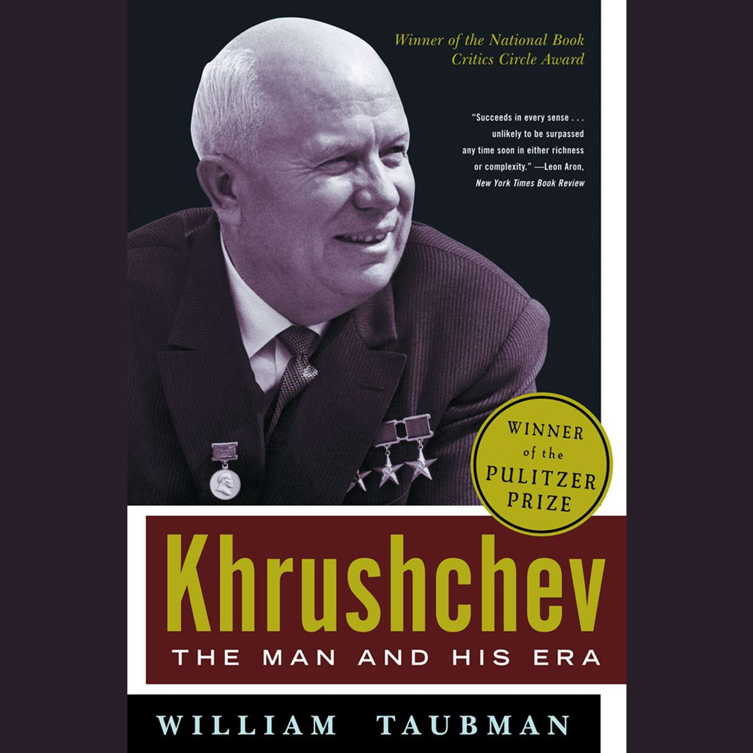 Khrushchev: The Man and His Era Audiobook, by William Taubman