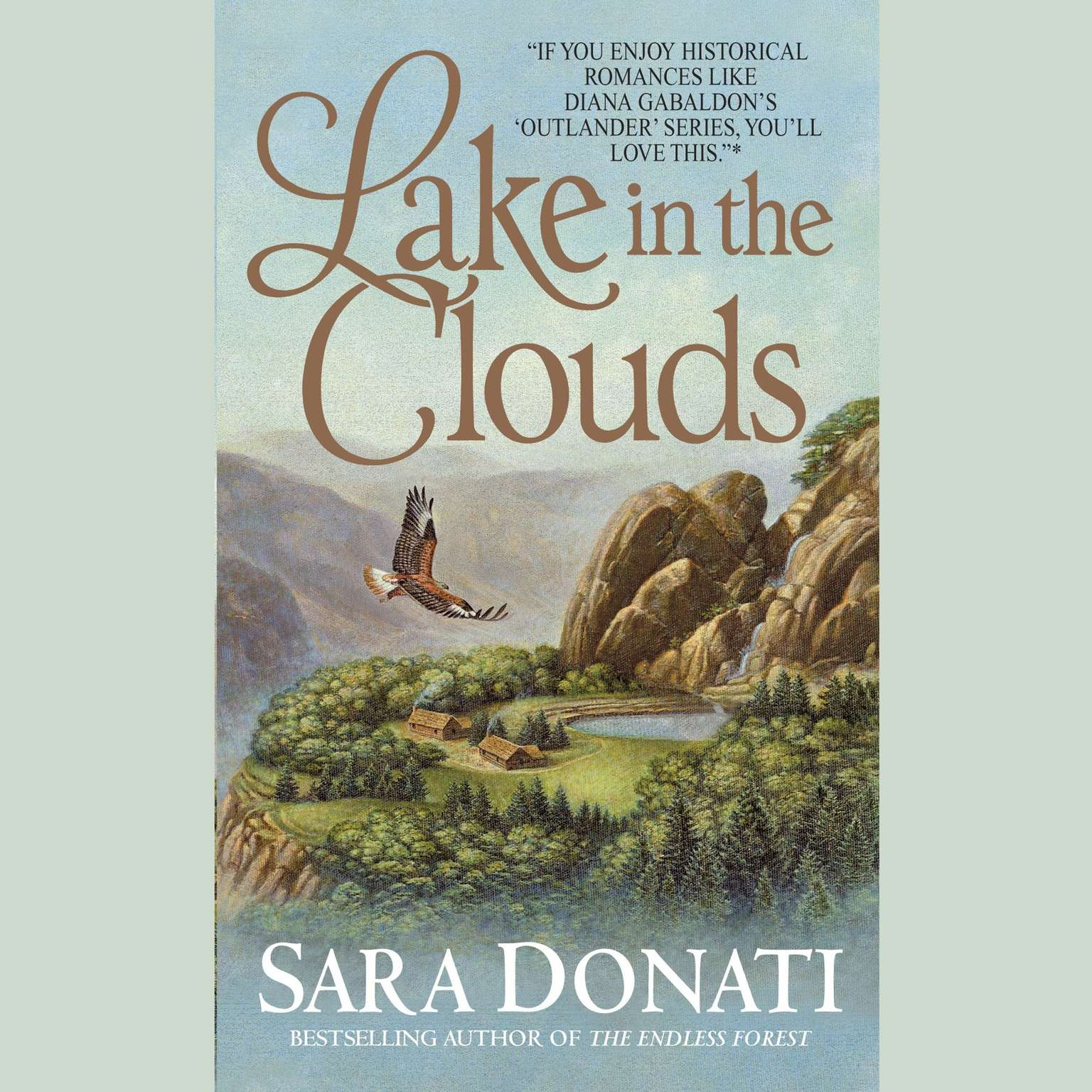 Printable Lake in the Clouds Audiobook Cover Art