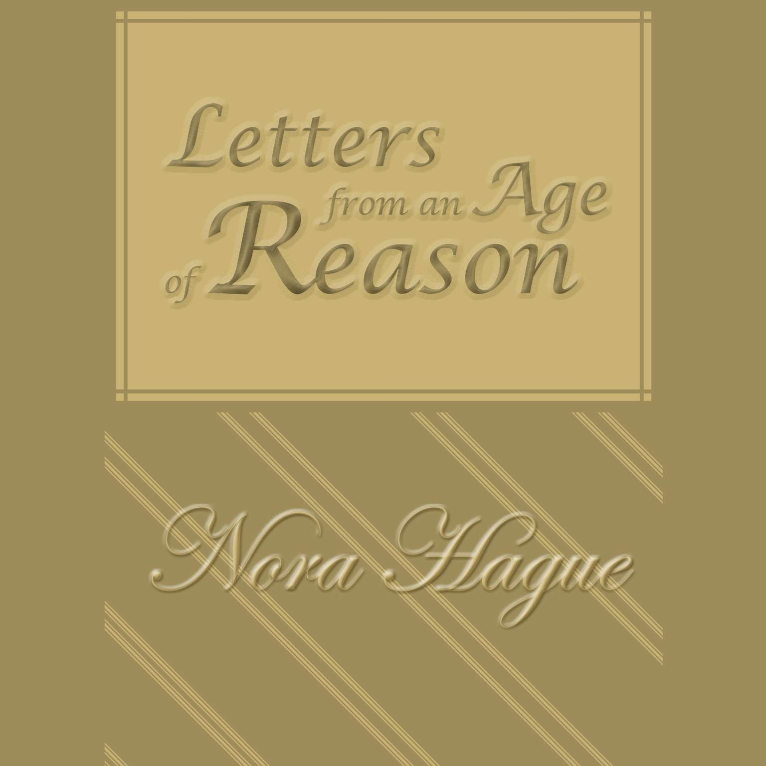 Printable Letters From an Age of Reason: A Novel Audiobook Cover Art