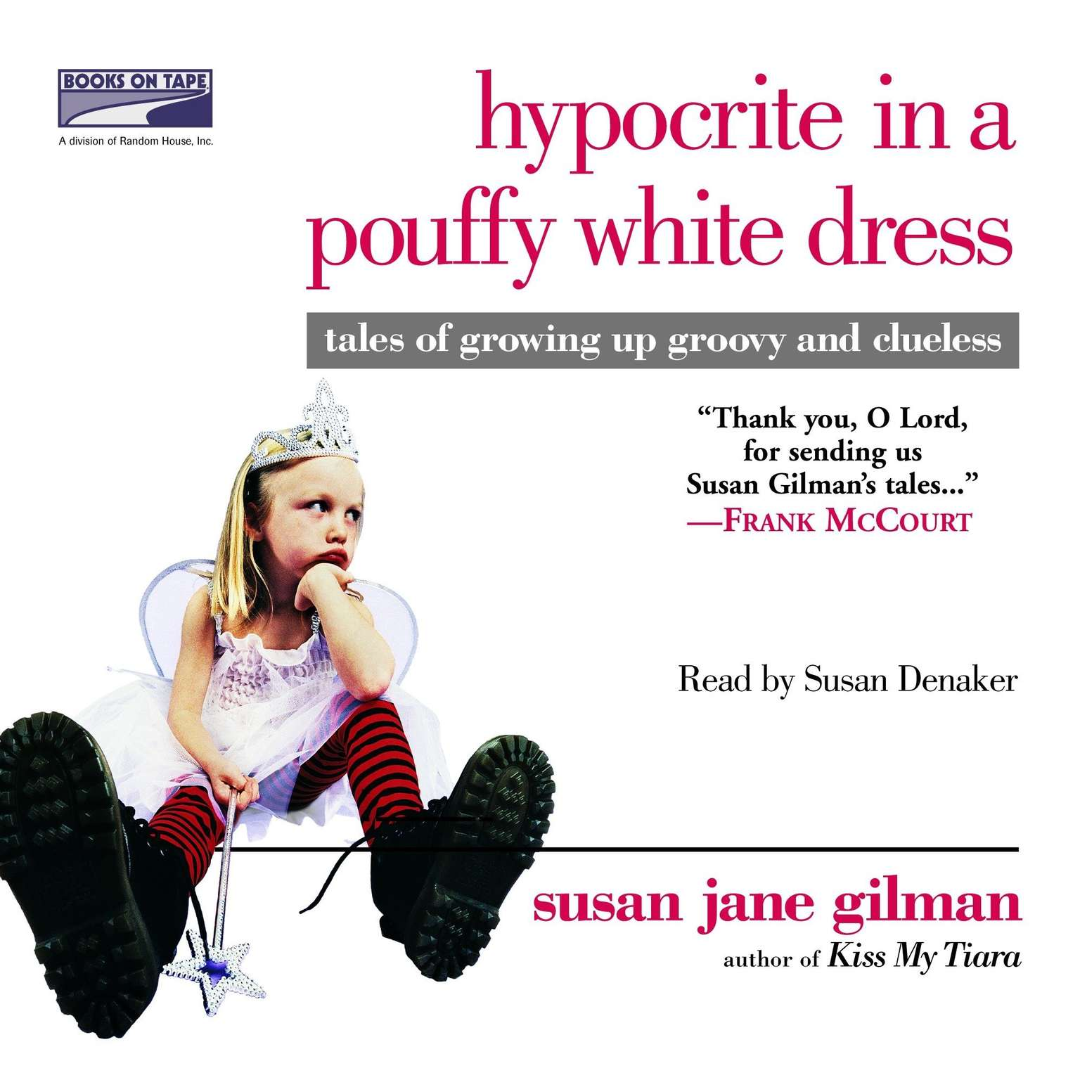 Printable Hypocrite in a Pouffy White Dress Audiobook Cover Art