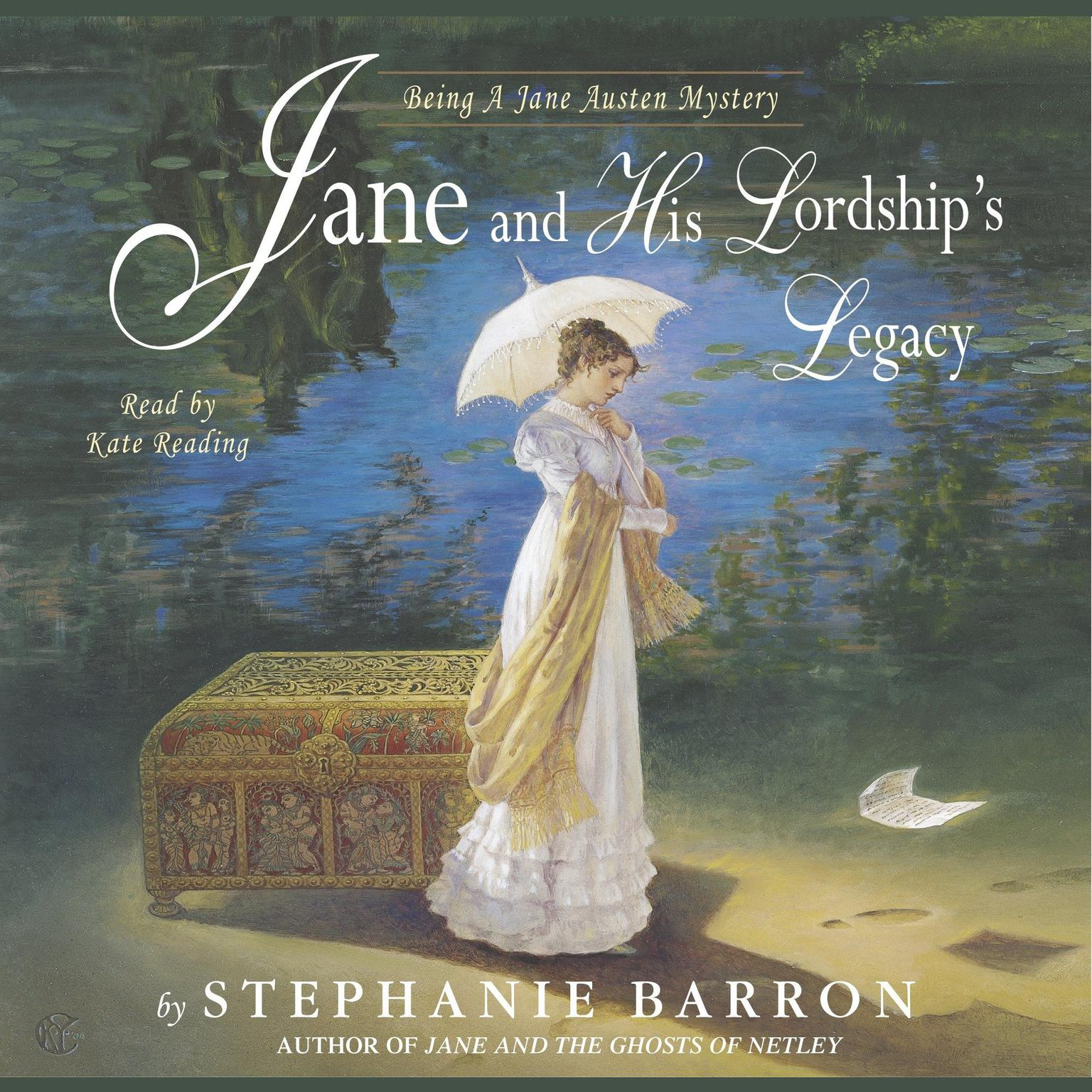 Printable Jane and His Lordship's Legacy Audiobook Cover Art