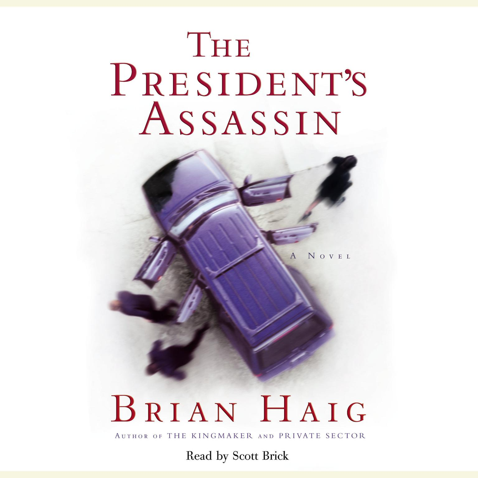 Printable President's Assassin Audiobook Cover Art