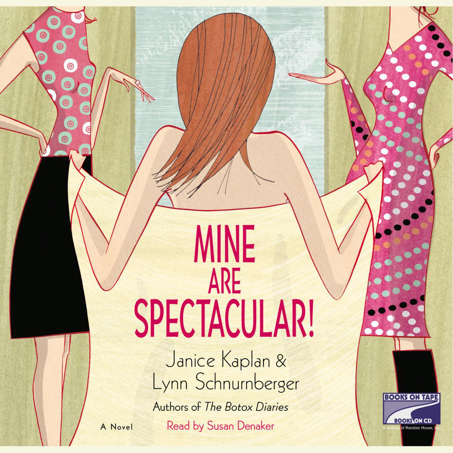 Printable Mine Are Spectacular!: A Novel Audiobook Cover Art