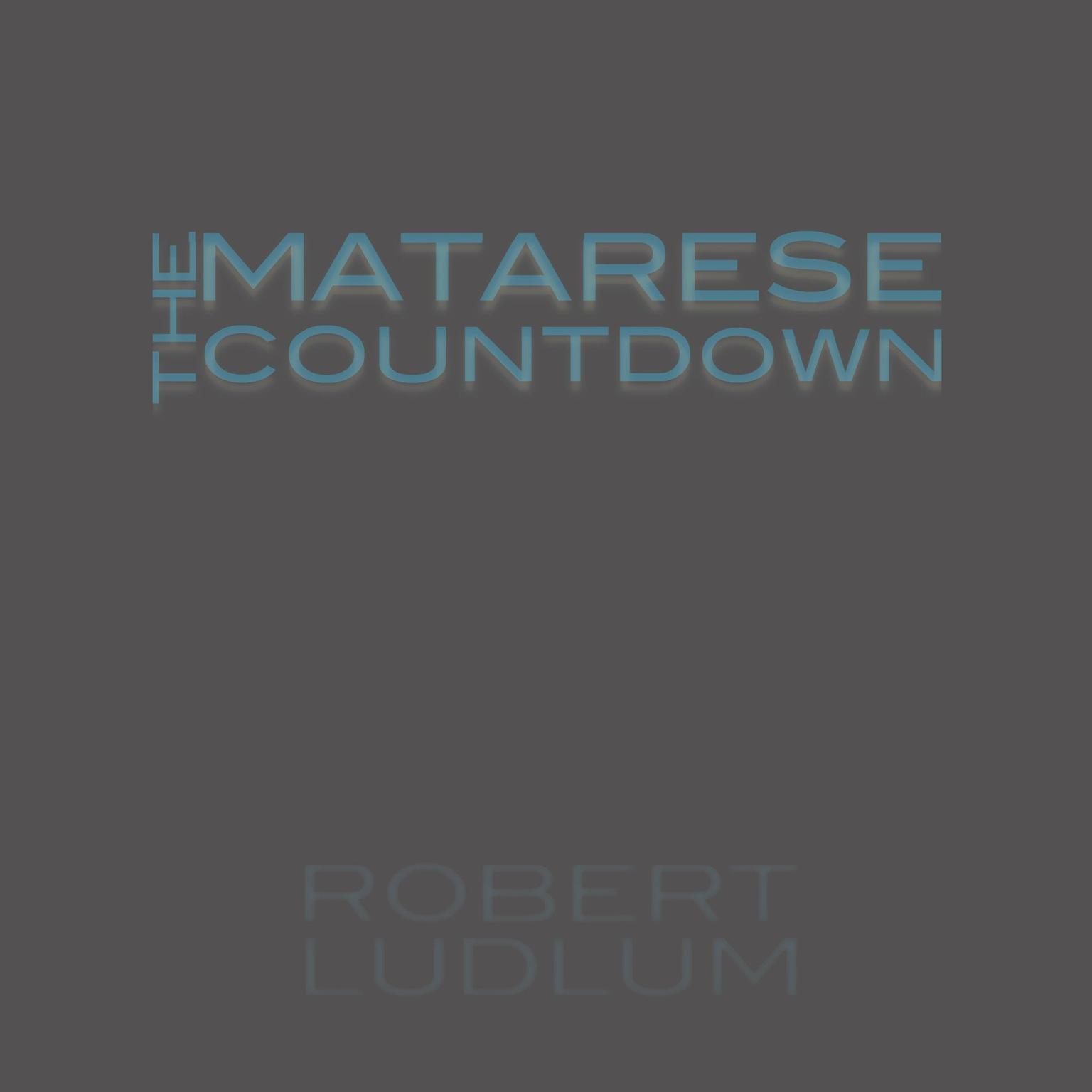 Printable The Matarese Countdown Audiobook Cover Art