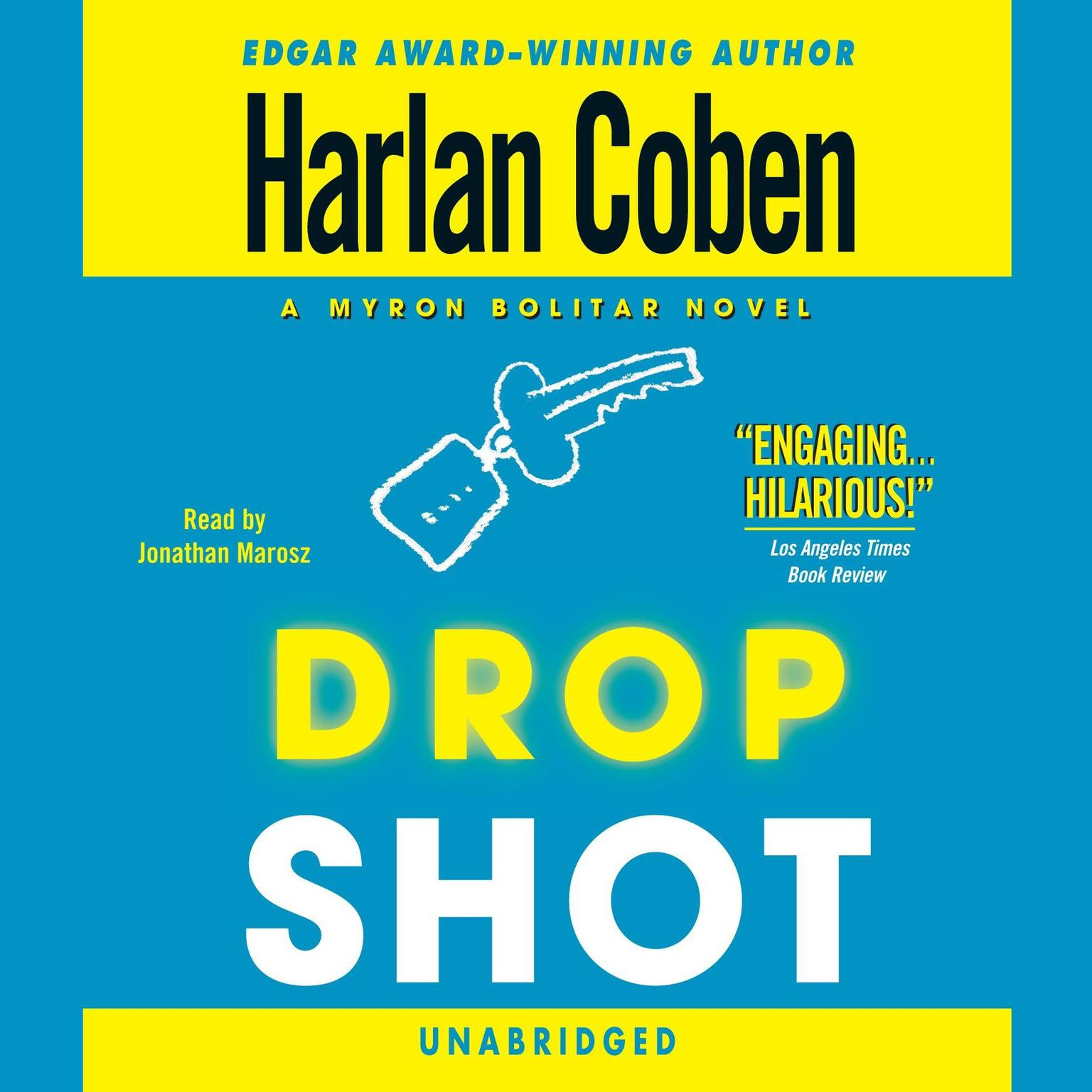 Printable Drop Shot Audiobook Cover Art