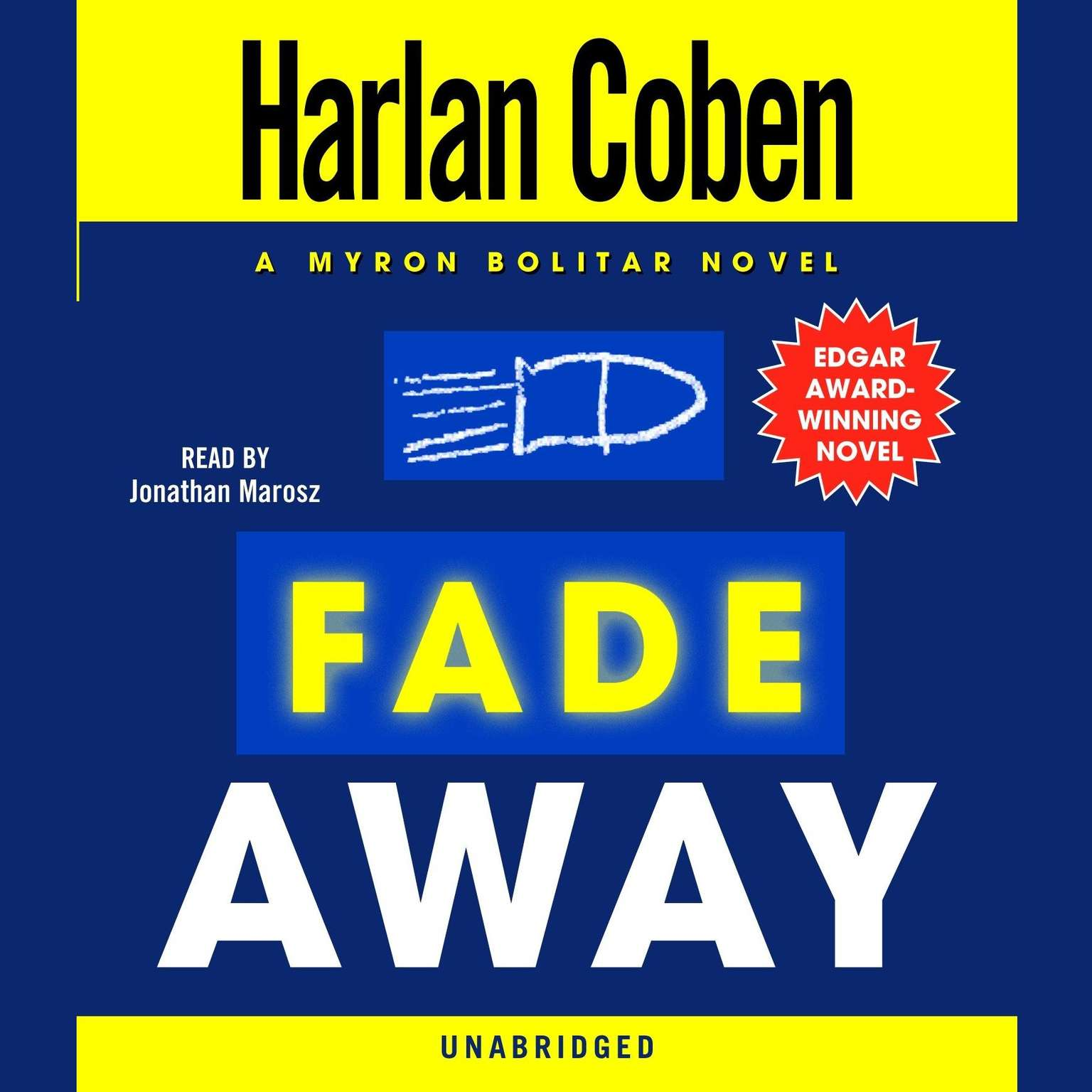 Printable Fade Away: A Myron Bolitar Novel Audiobook Cover Art
