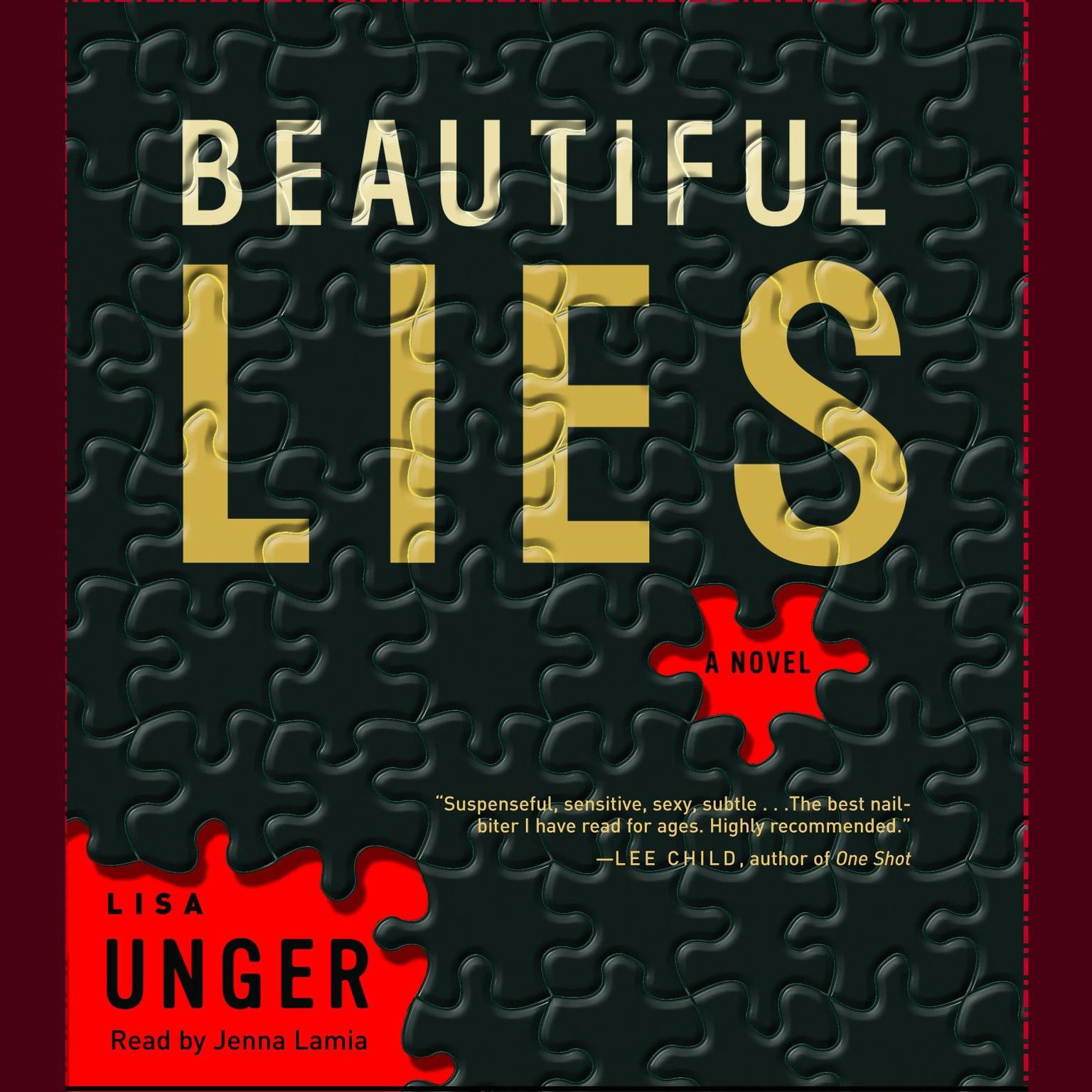 Printable Beautiful Lies: A Novel Audiobook Cover Art