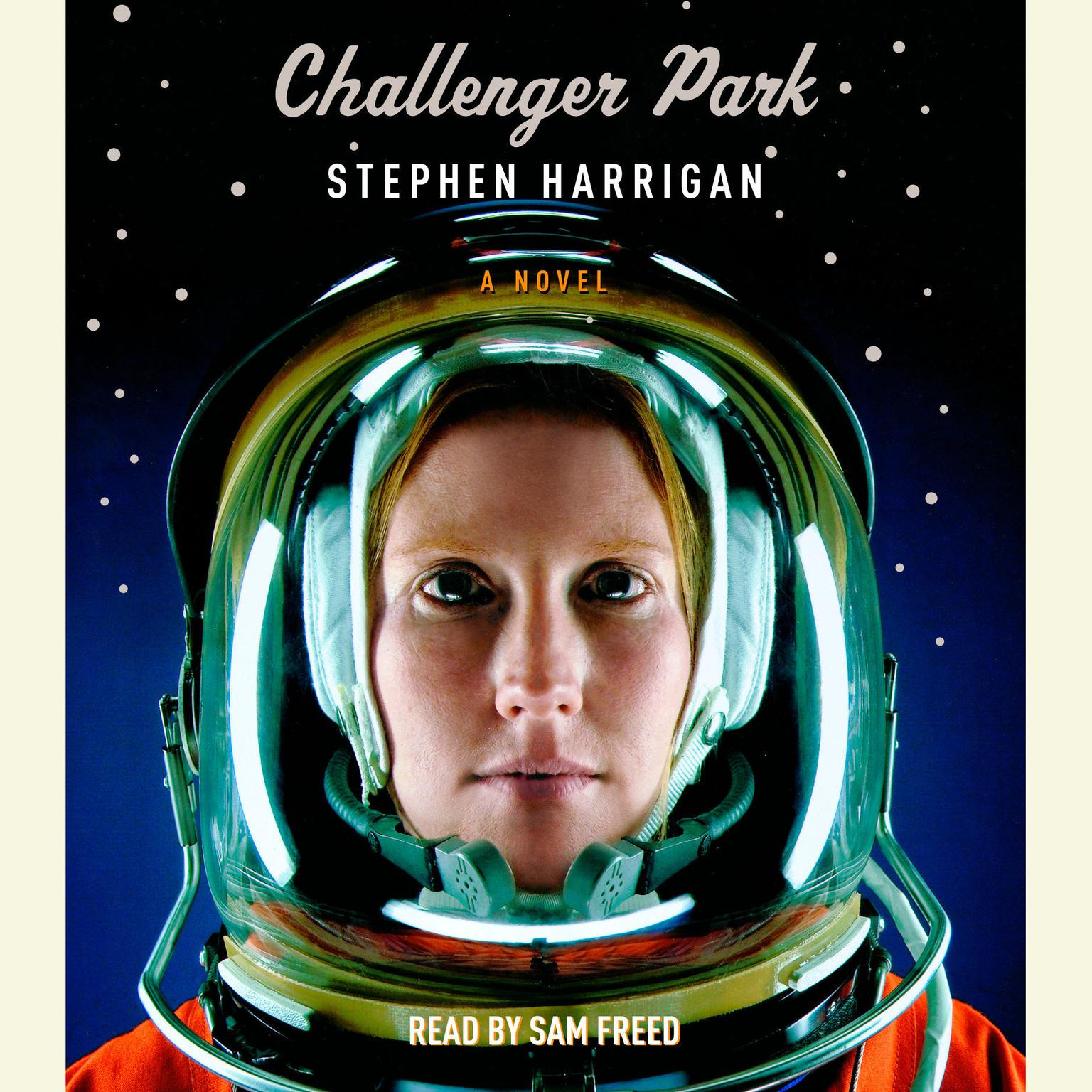 Printable Challenger Park Audiobook Cover Art