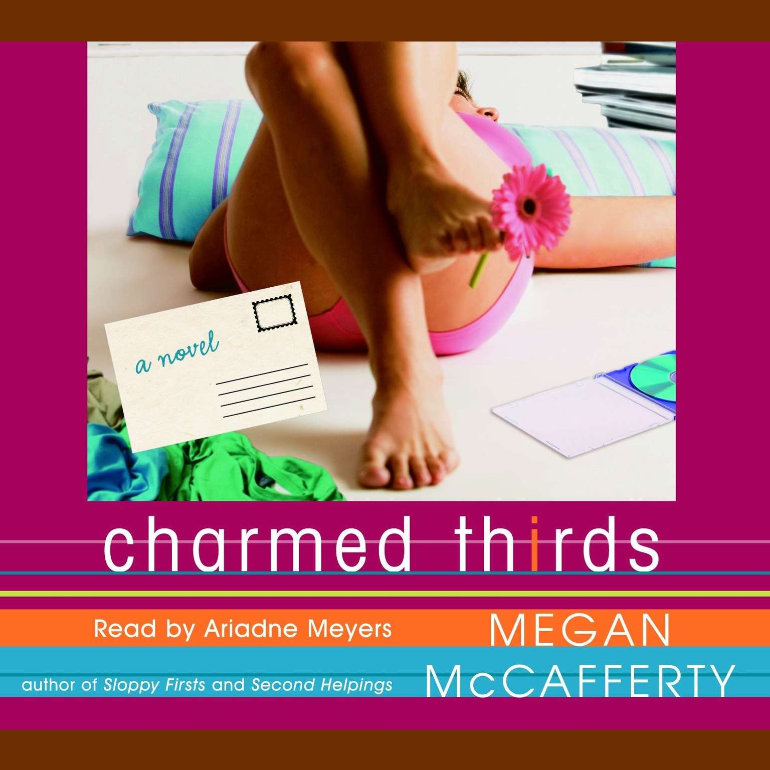 Printable Charmed Thirds Audiobook Cover Art