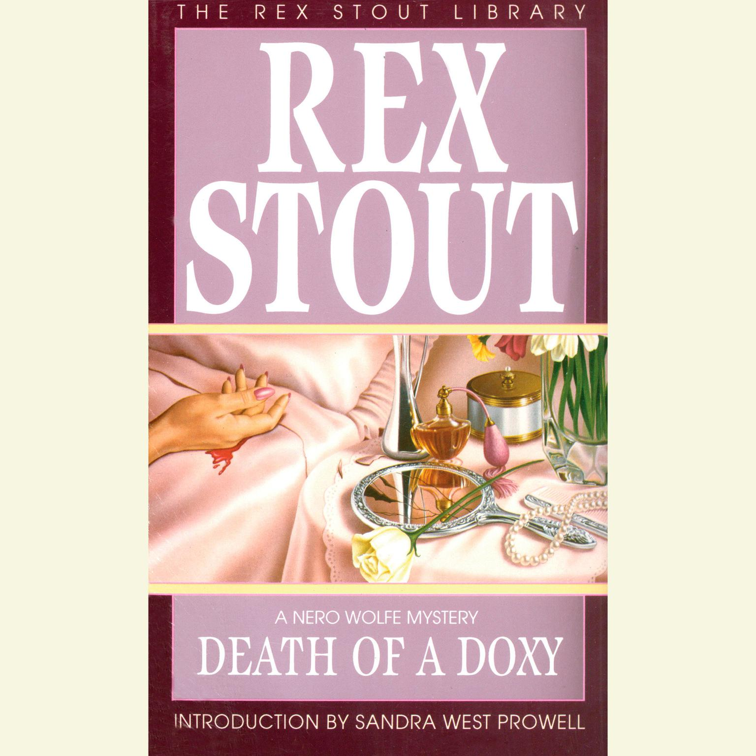 Printable Death of a Doxy Audiobook Cover Art