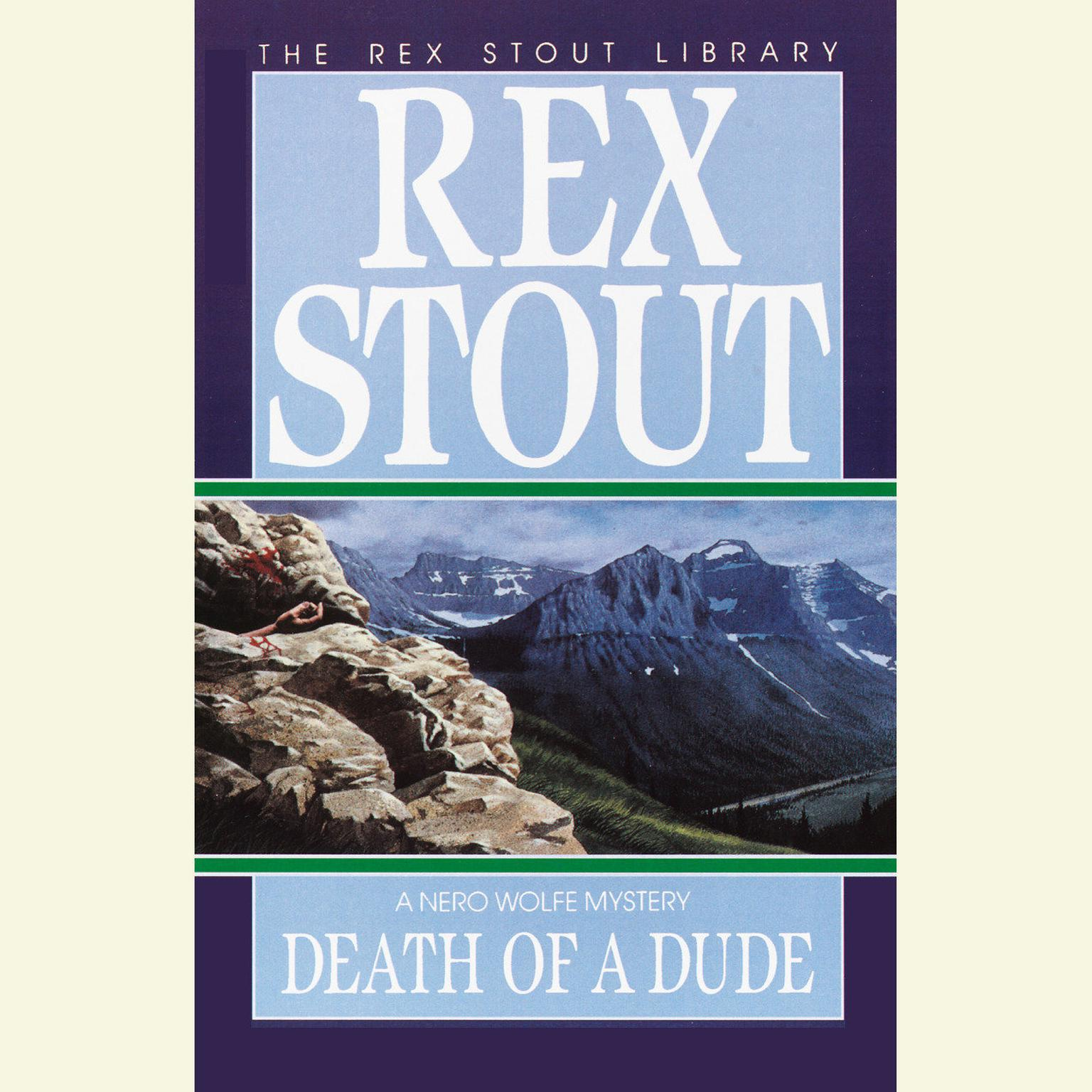 Printable Death of a Dude Audiobook Cover Art