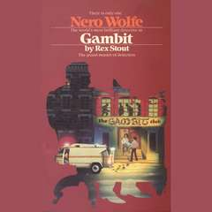 Gambit Audiobook, by Rex Stout