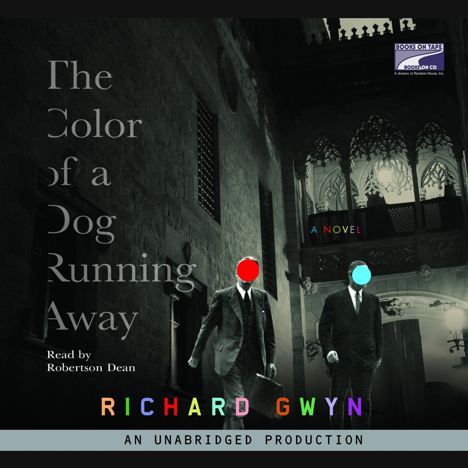 Printable The Color of a Dog Running Away Audiobook Cover Art