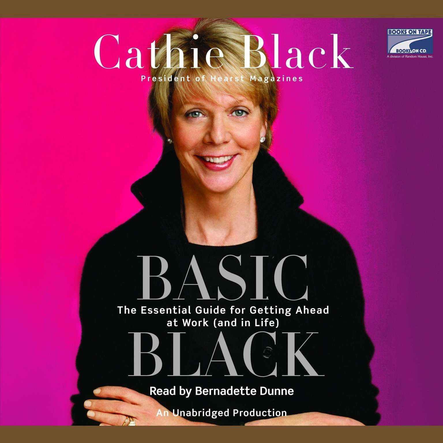 Printable Basic Black: The Essential Guide for Getting Ahead at Work (and in Life) Audiobook Cover Art