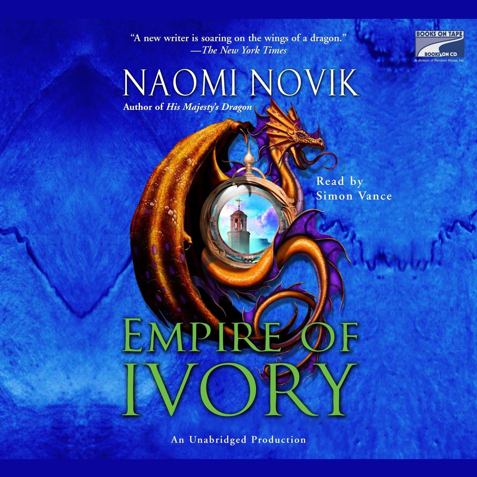 Printable Empire of Ivory Audiobook Cover Art