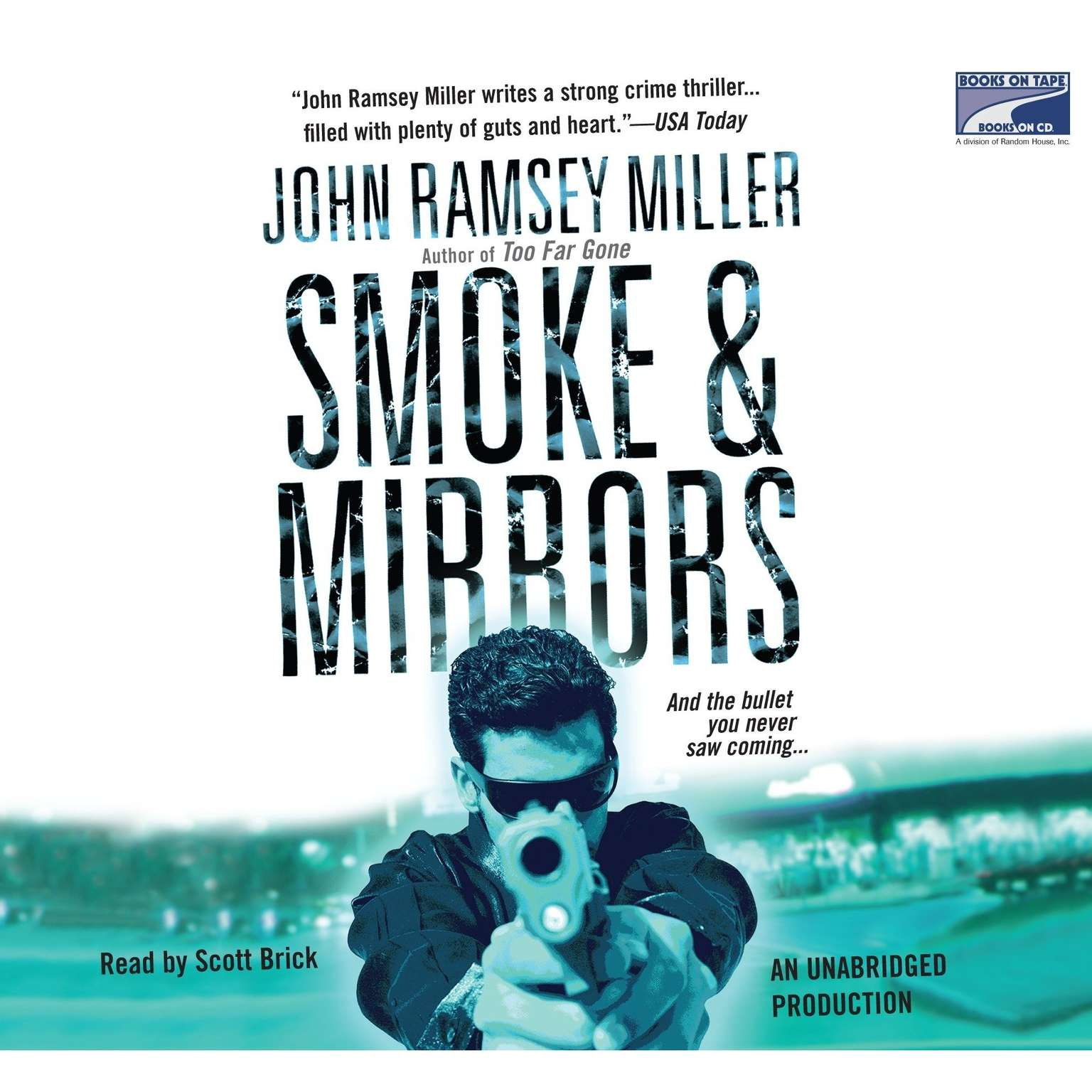 Printable Smoke & Mirrors Audiobook Cover Art