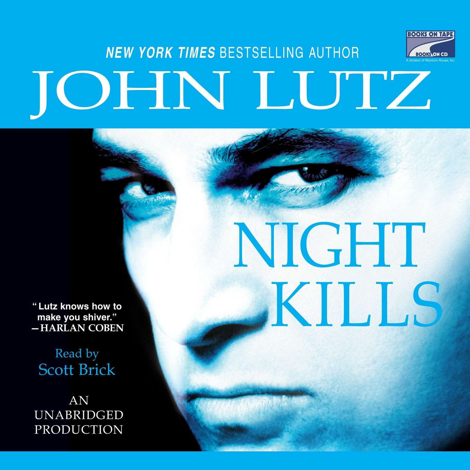 Printable Night Kills Audiobook Cover Art