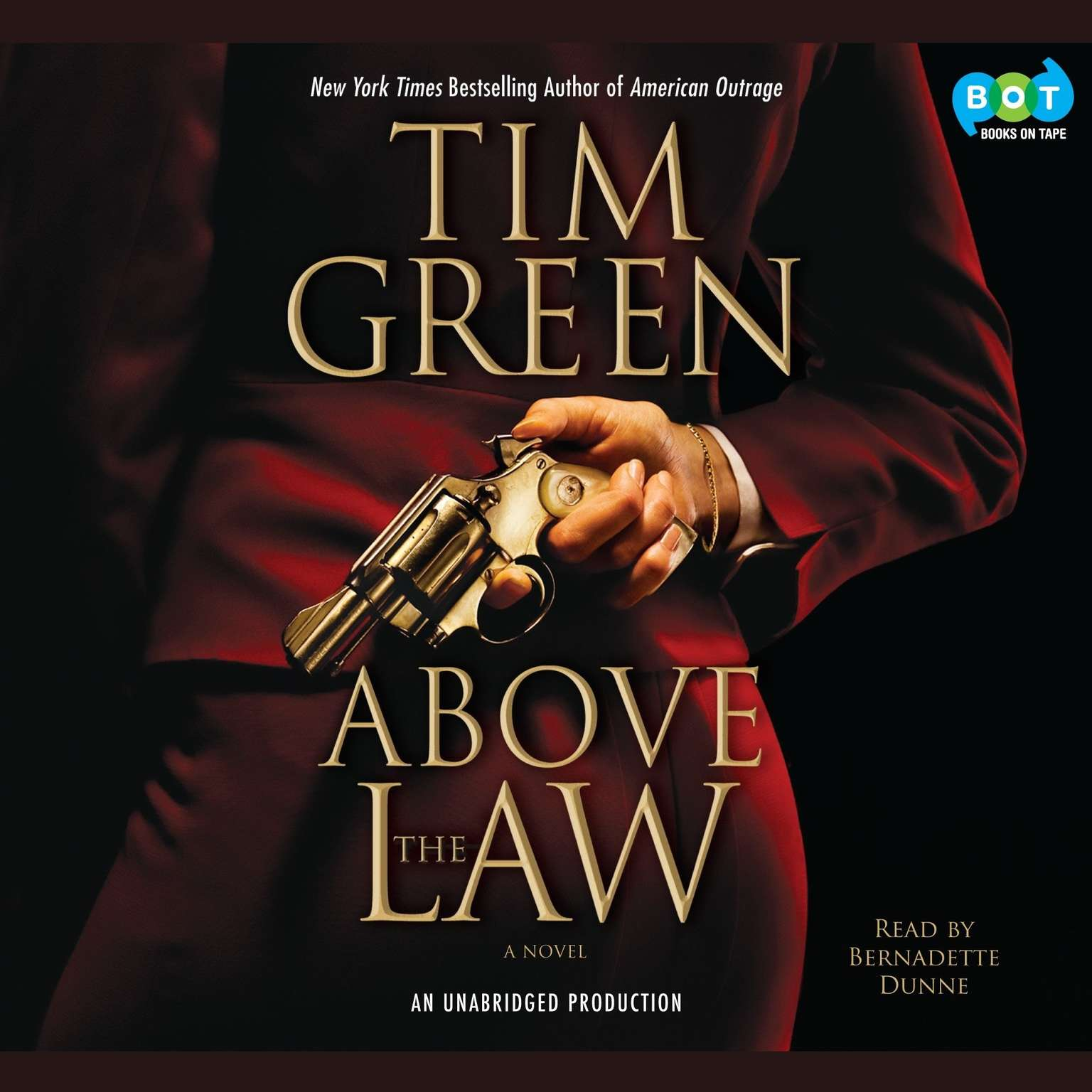 Printable Above the Law Audiobook Cover Art