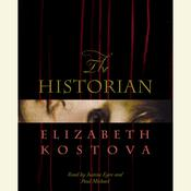The Historian Audiobook, by Elizabeth Kostova