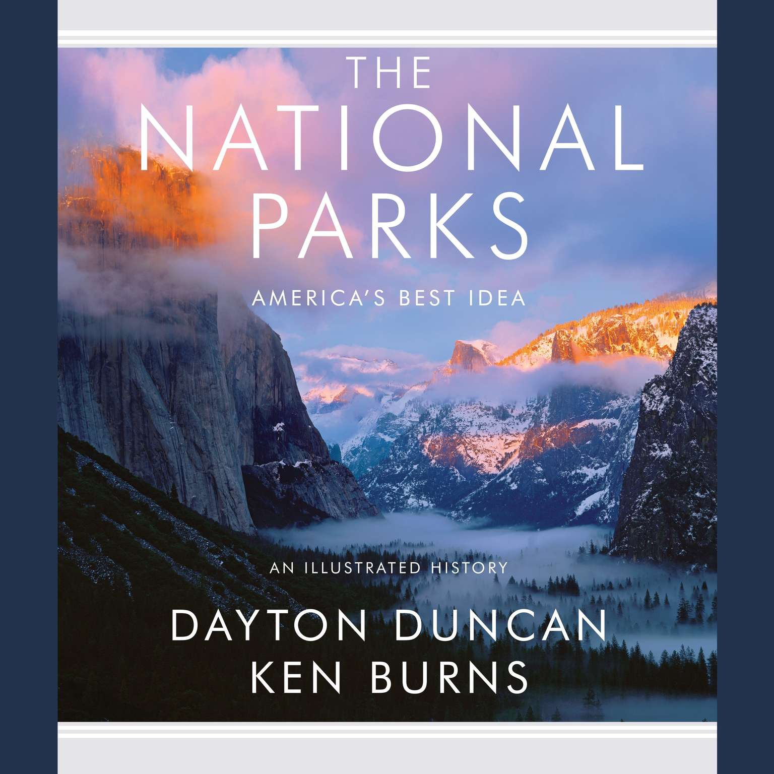 Printable The National Parks: America's Best Idea Audiobook Cover Art