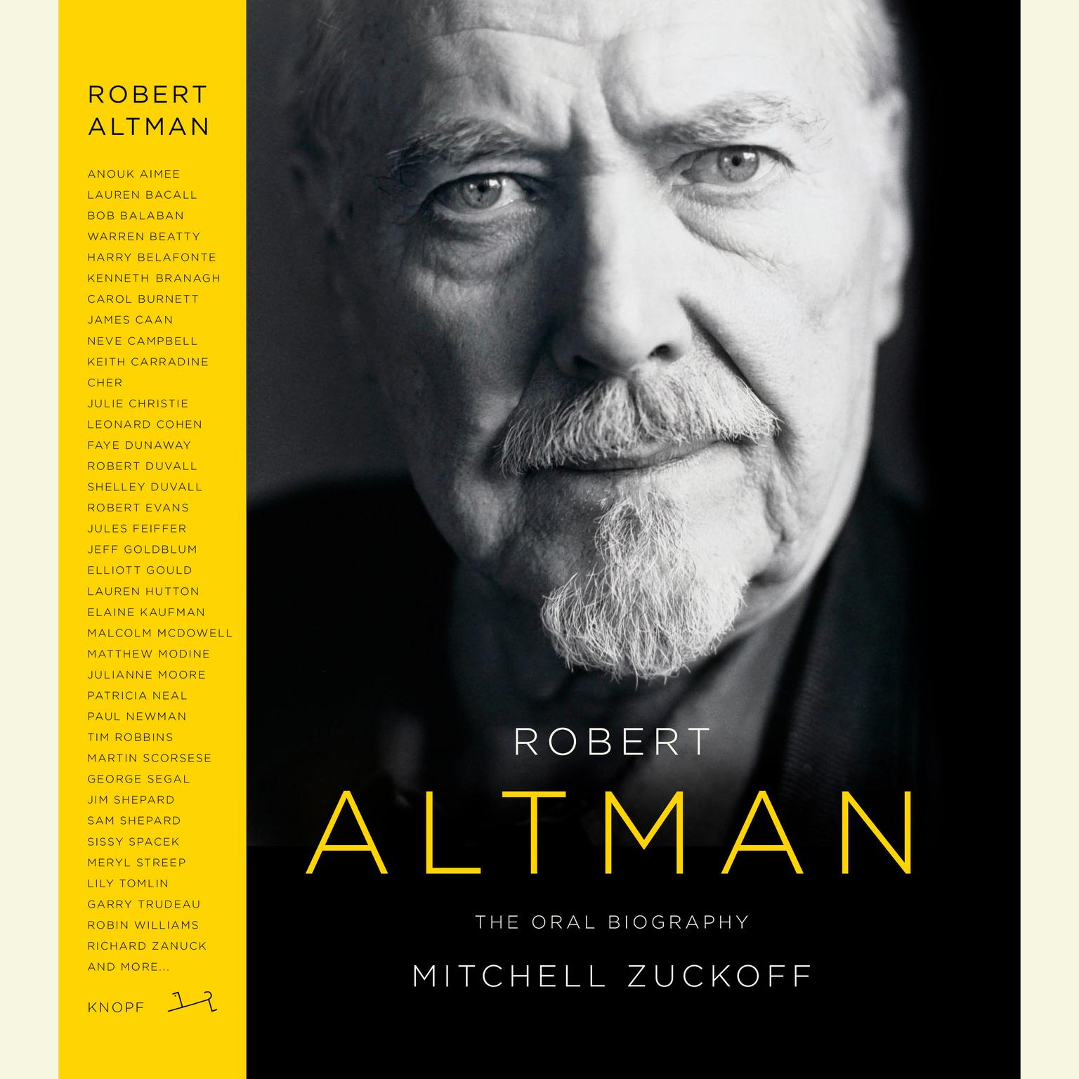 Printable Robert Altman: The Oral Biography Audiobook Cover Art